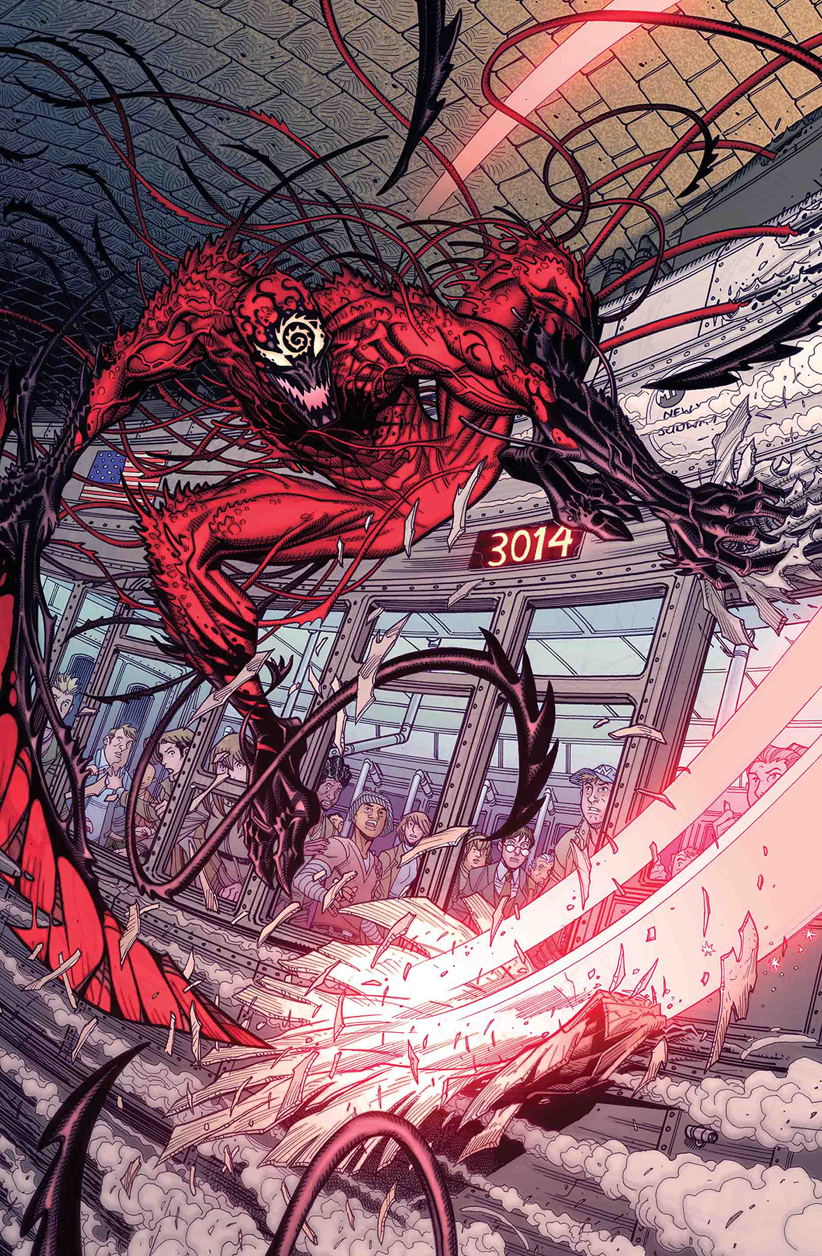 ABSOLUTE CARNAGE #1 (OF 5) BRADSHAW VAR AC