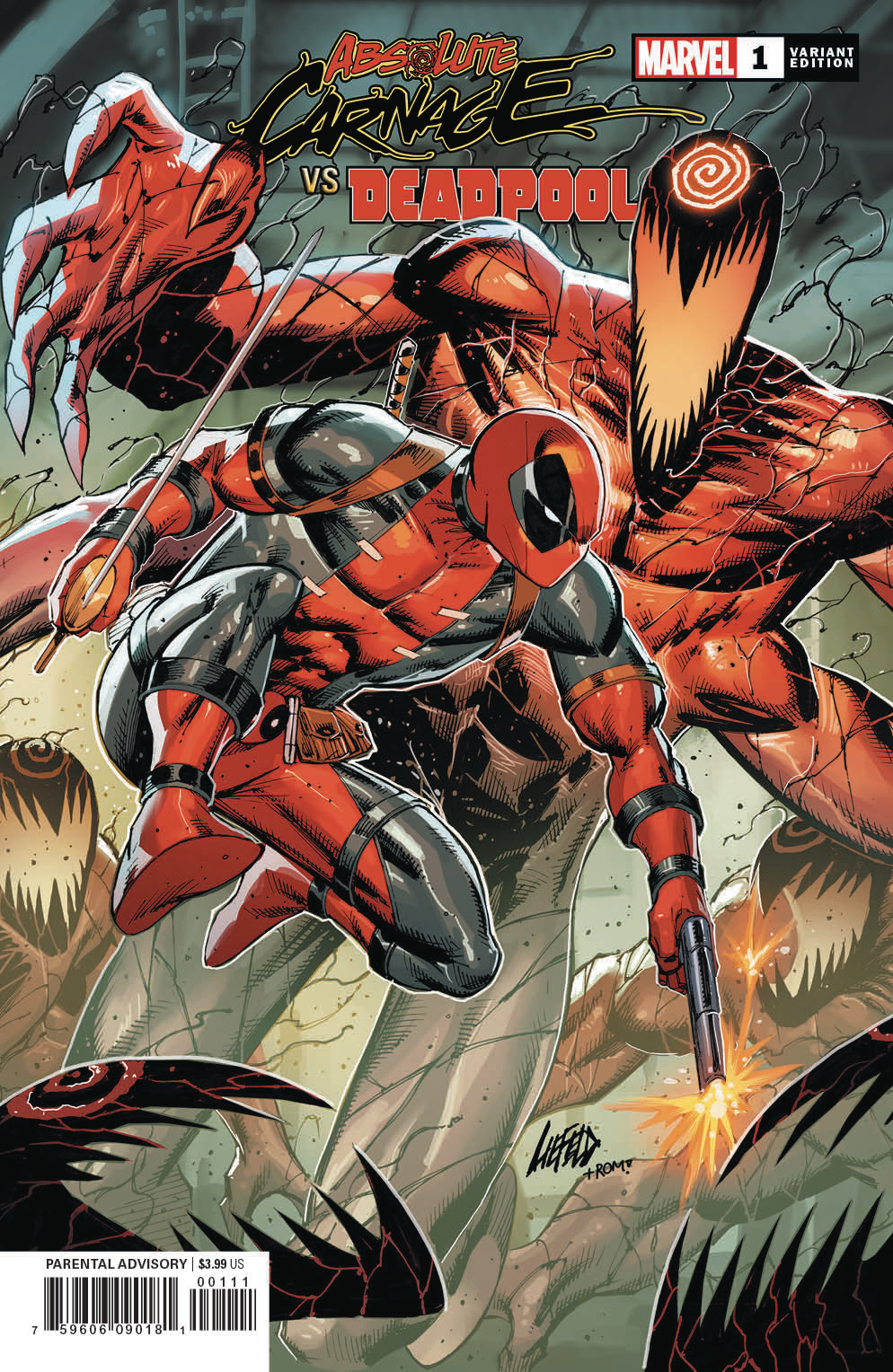 ABSOLUTE CARNAGE VS DEADPOOL #1 (OF 3) CONNECTING VAR AC
