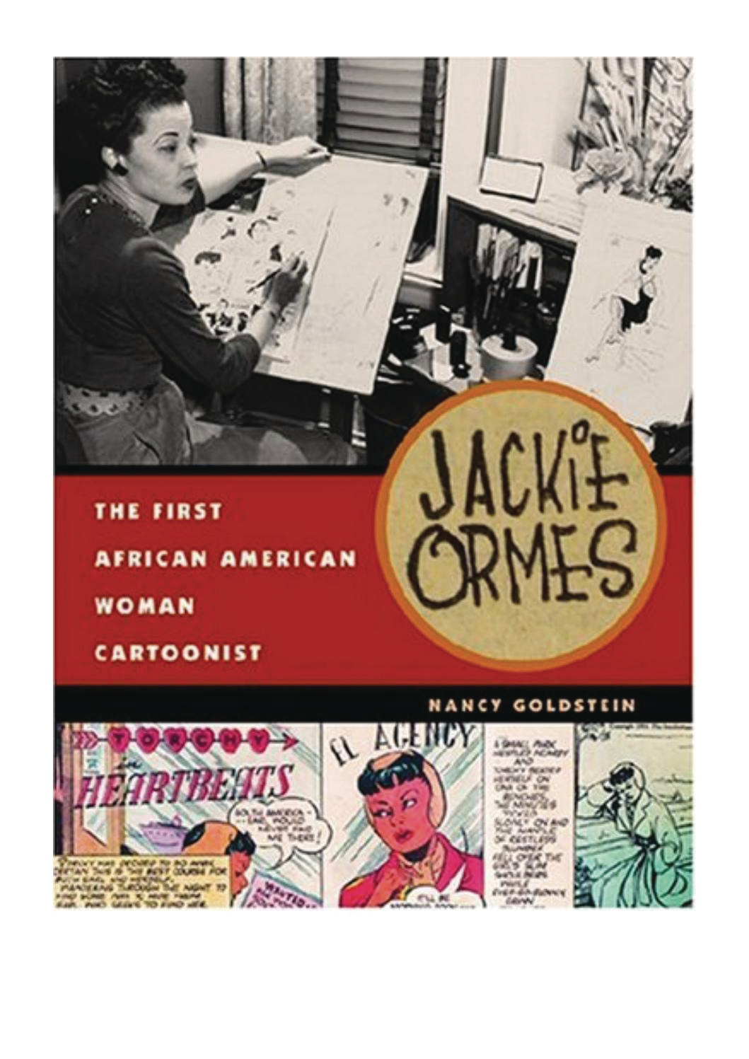 JACKIE ORMES FIRST AFRICAN AMERICAN WOMAN CARTOONIST SC