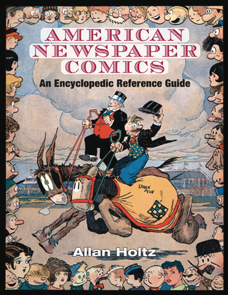 AMERICAN NEWSPAPER COMICS ENCYCLOPEDIC REFERENCE GUIDE HC (C