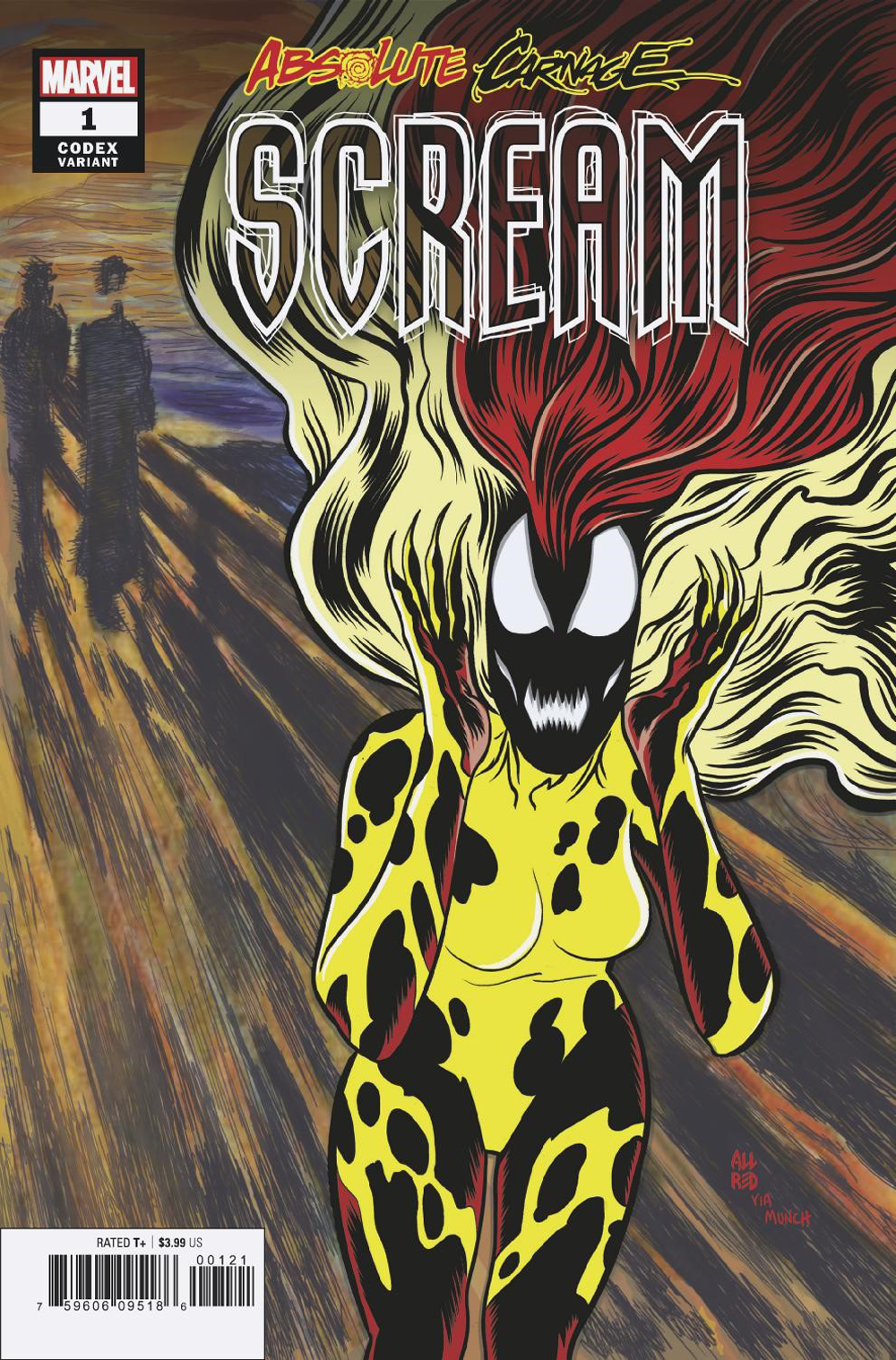 ABSOLUTE CARNAGE SCREAM #1 (OF 3) ALLRED CODEX VAR AC
