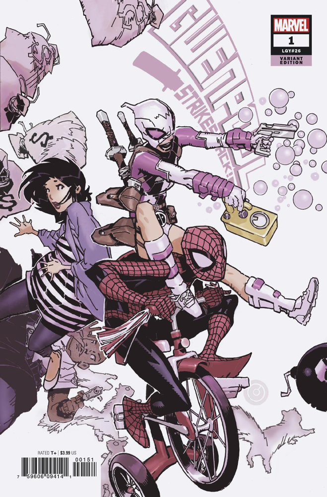 GWENPOOL STRIKES BACK #1 (OF 5) BACHALO VAR