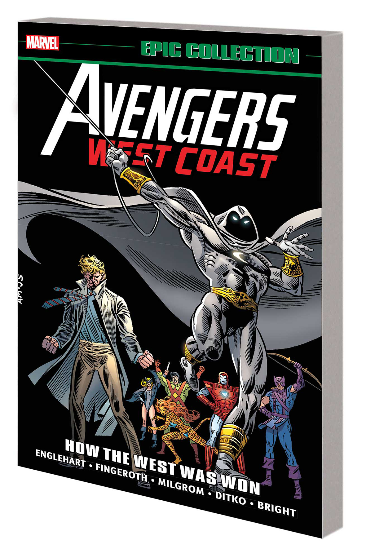 AVENGERS WEST COAST EPIC COLLECTION TP LOST IN SPACE-TIME