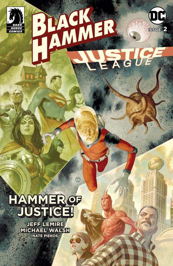 BLACK HAMMER JUSTICE LEAGUE #2 (OF 5) CVR E SCALERA