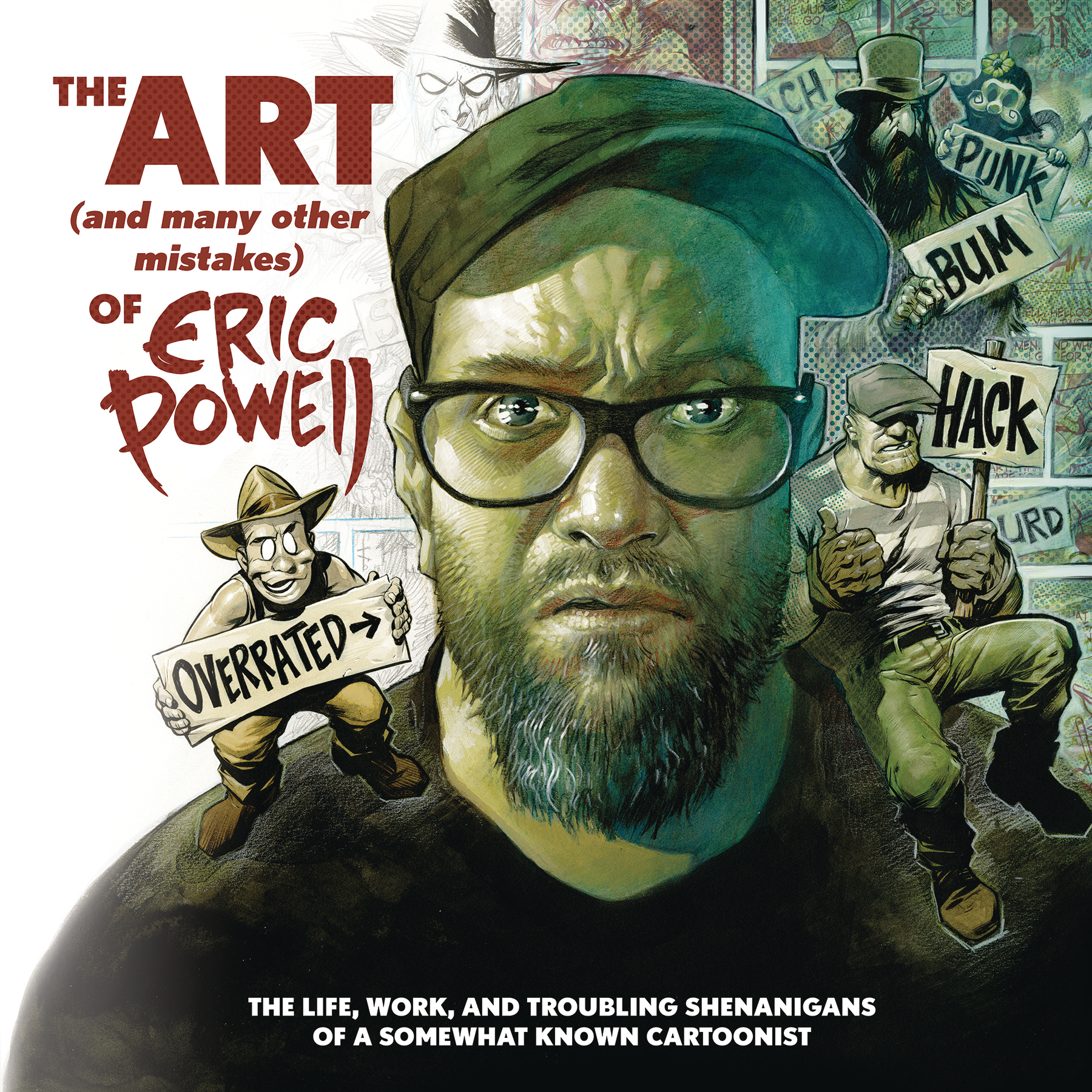 ART & MANY MISTAKES ERIC POWELL HC