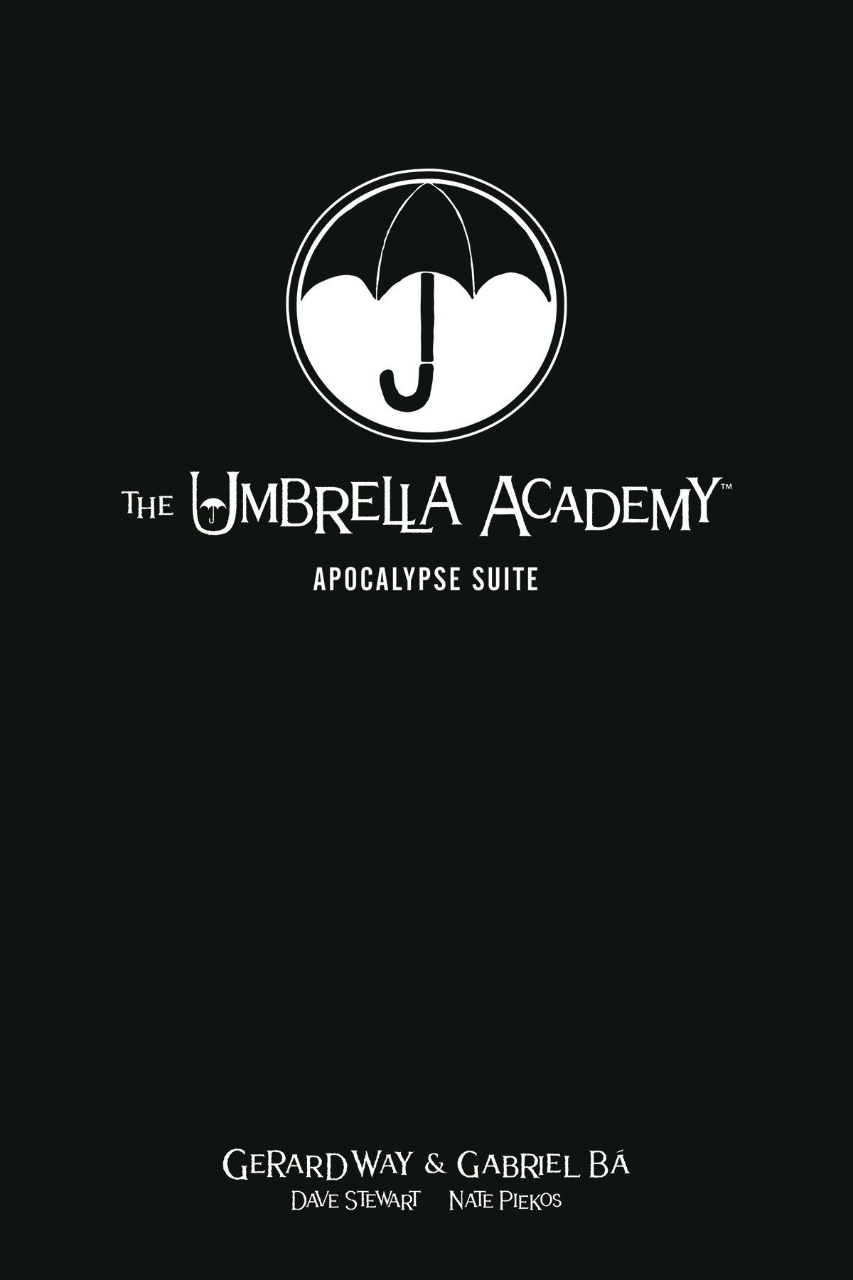 UMBRELLA ACADEMY LIBRARY EDITION HC VOL 01 APOCALYPSE SUITE