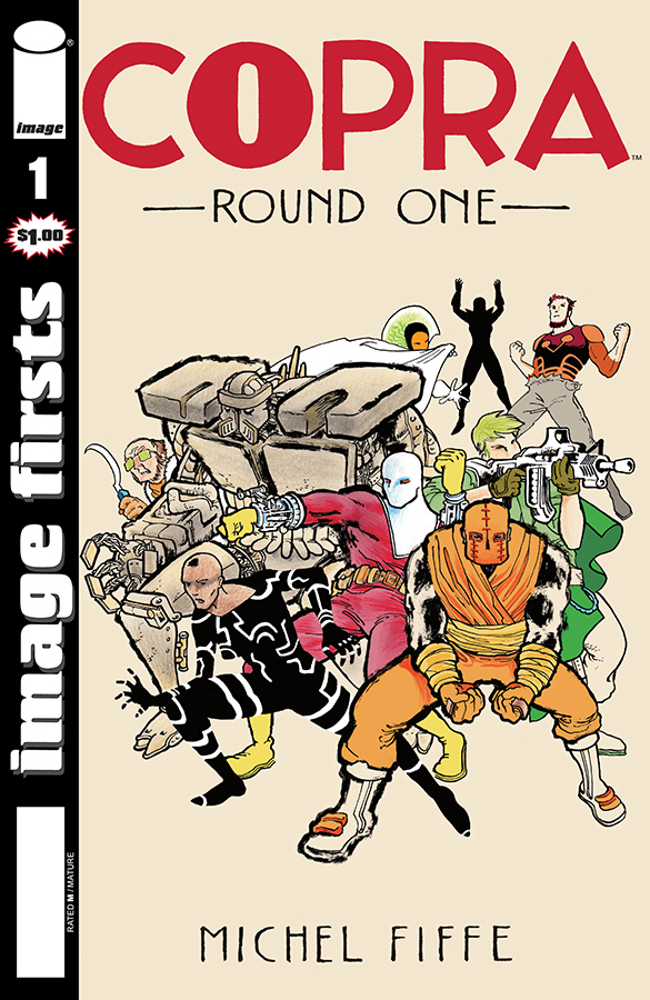 IMAGE FIRSTS COPRA #1 (O/A) (MR)
