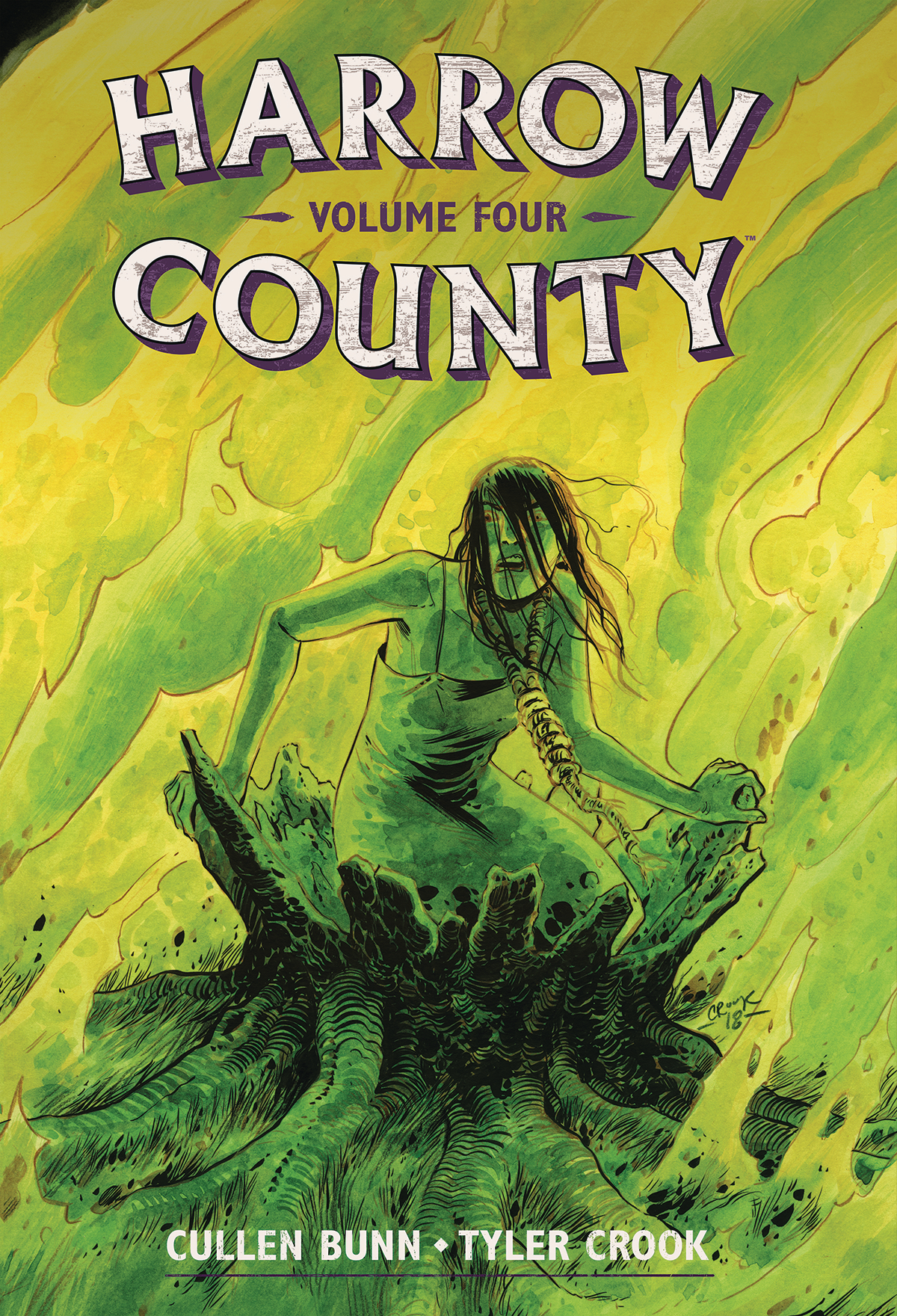 HARROW COUNTY LIBRARY EDITION HC VOL 04