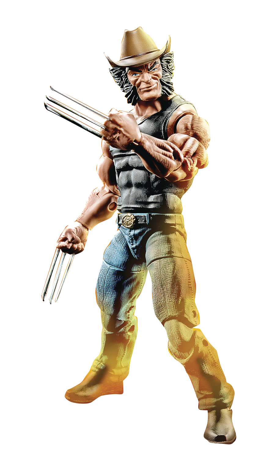 MARVEL LEGENDS 6IN VARIANT LOGAN AF CS