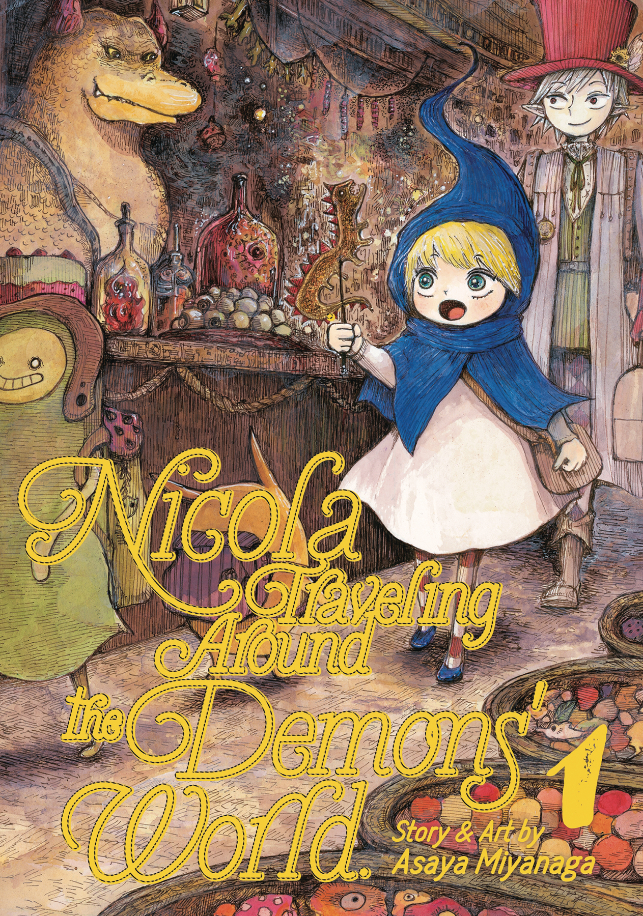 NICOLA TRAVELING AROUND DEMON WORLD GN VOL 01