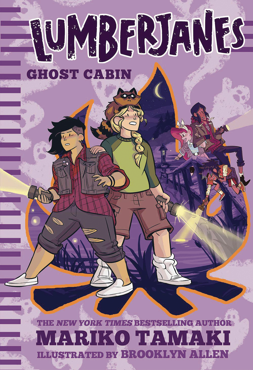 LUMBERJANES ILLUS HC NOVEL VOL 04 GHOST CABIN