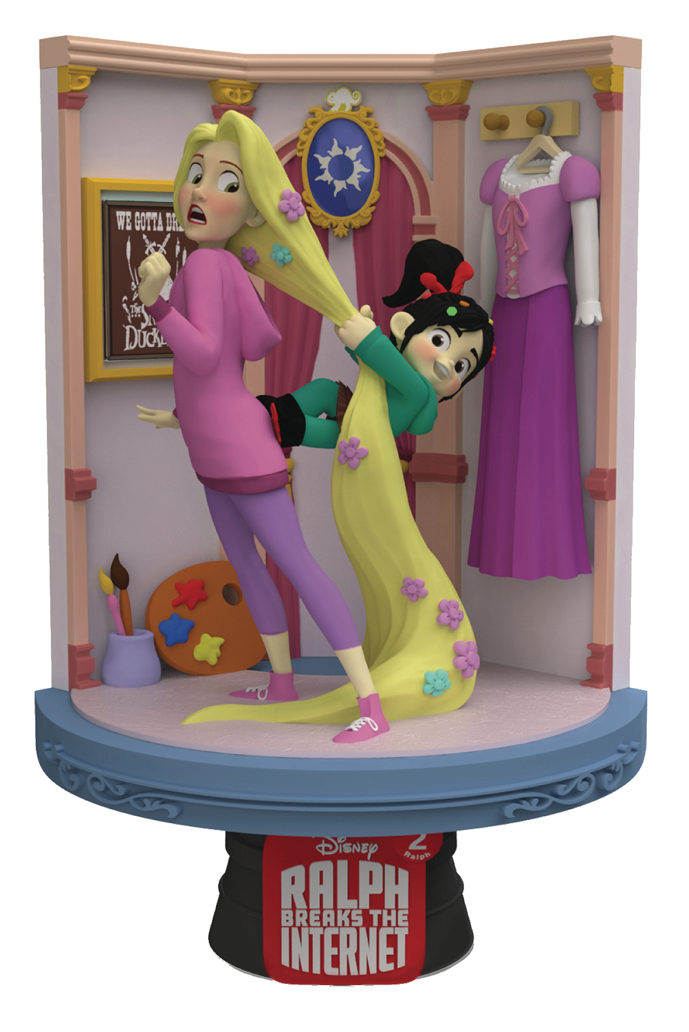 WRECK-IT RALPH 2 DS-027 RAPUNZEL D-STAGE SER PX 6IN STATUE (