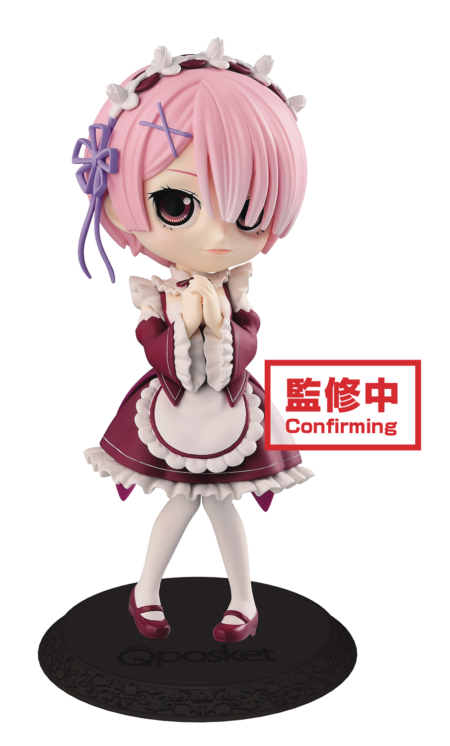 RE ZERO STARTING LIFE IN ANOTHER WORLD Q-POSKET RAM V2 FIG (