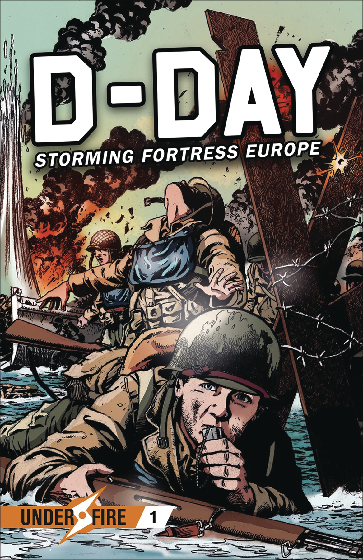 D DAY STORMING FORTRESS EUROPE GN (RES)