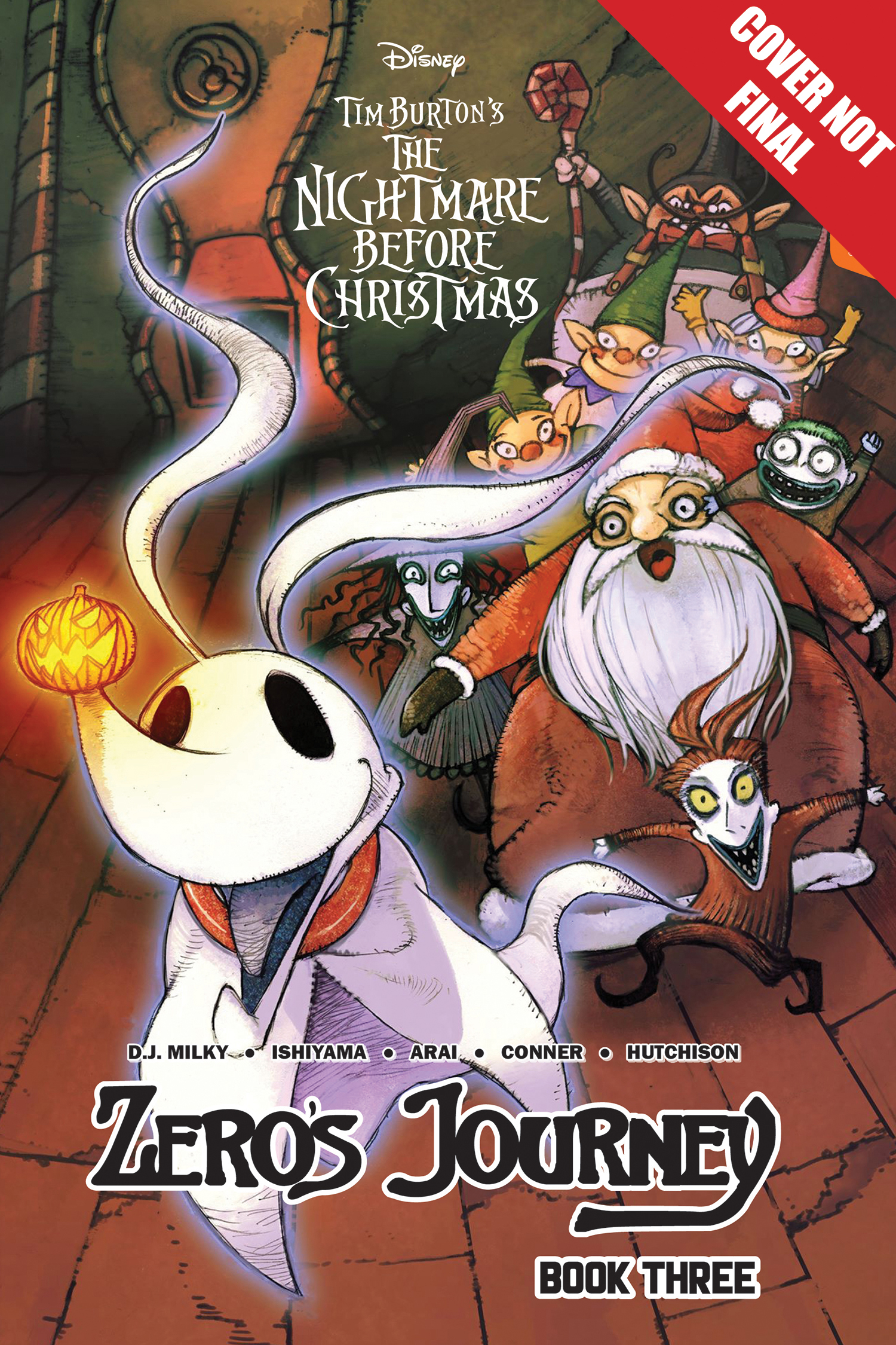 DISNEY MANGA NIGHTMARE CHRISTMAS ZEROS JOURNEY TP VOL 03 (JU