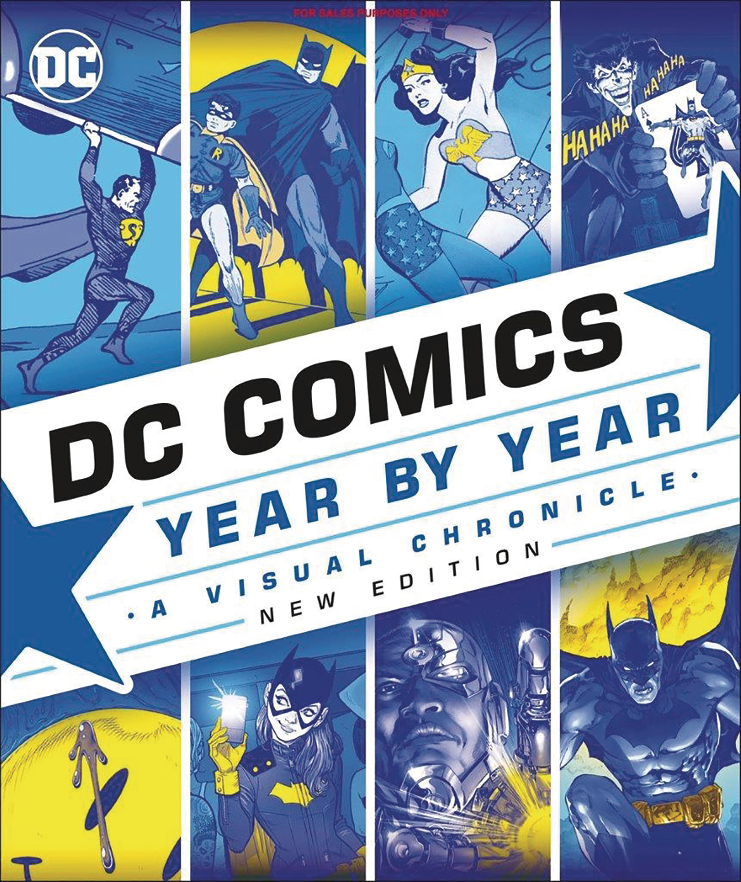 DC COMICS YEAR BY YEAR VISUAL CHRONICLE NEW SLIPCASE ED