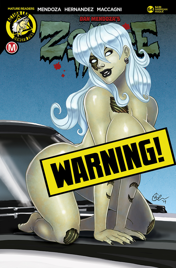 ZOMBIE TRAMP ONGOING #64 CVR F HARRIGAN RISQUE LTD ED (MR)