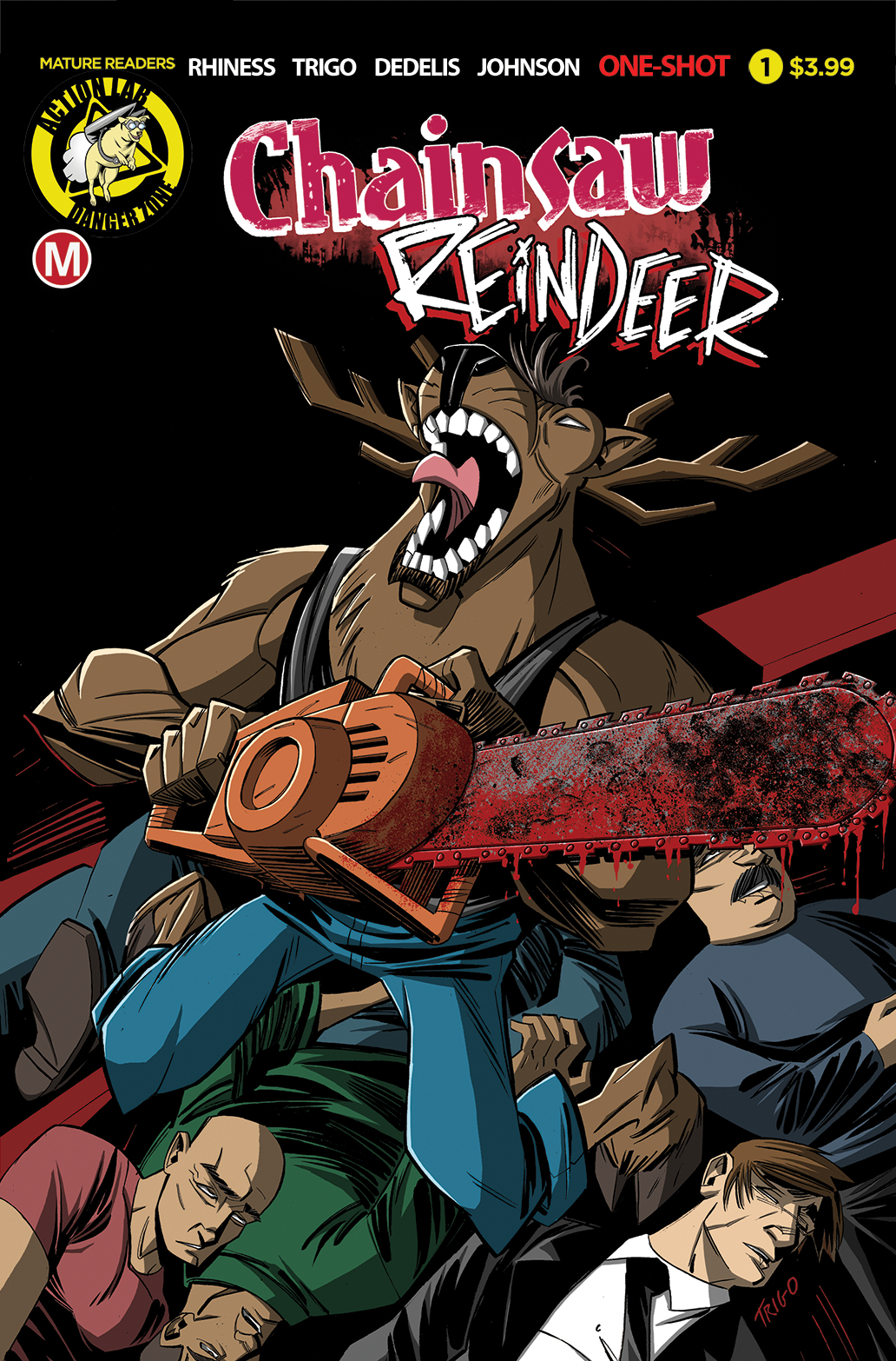 Image result for chainsaw reindeer #1