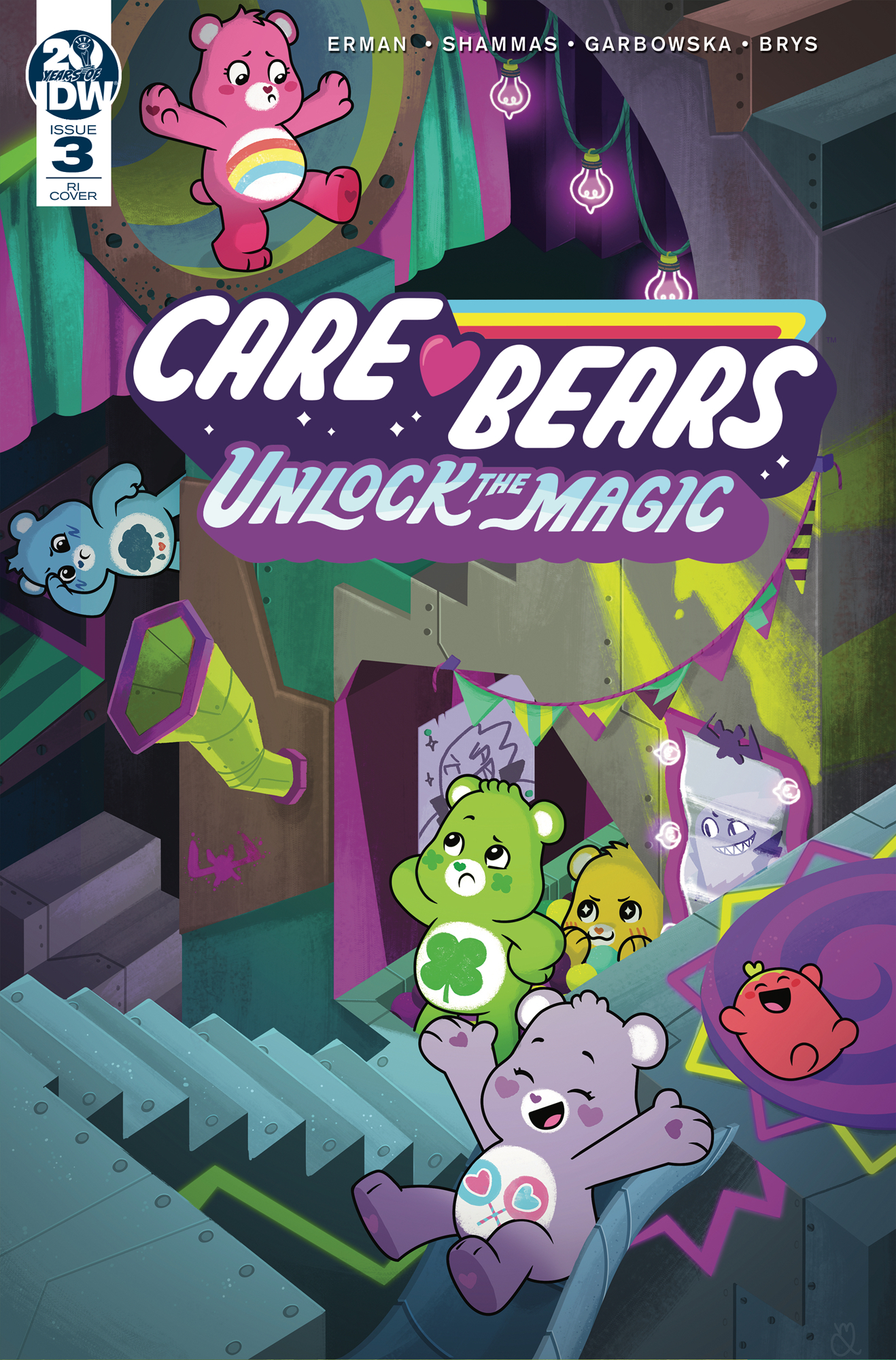 CARE BEARS UNLOCK THE MAGIC #3 (OF 3) 10 COPY INCV LEVY (NET