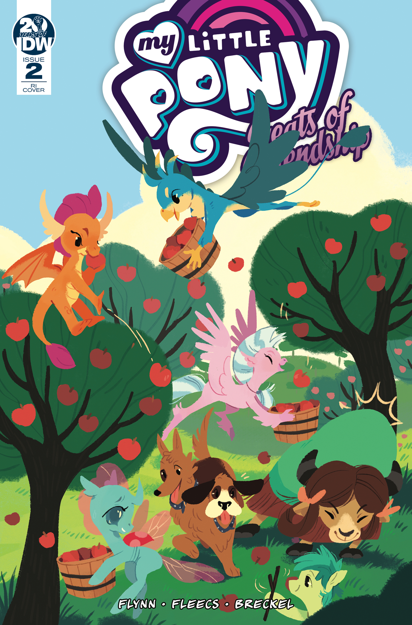 MY LITTLE PONY FEATS OF FRIENDSHIP #2 10 COPY INCV ONEILL (N