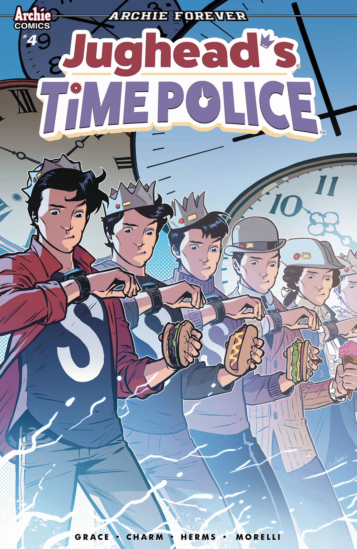 Jughead/'s Time Police #4B Isaacs Variant NM 2019 Stock Image