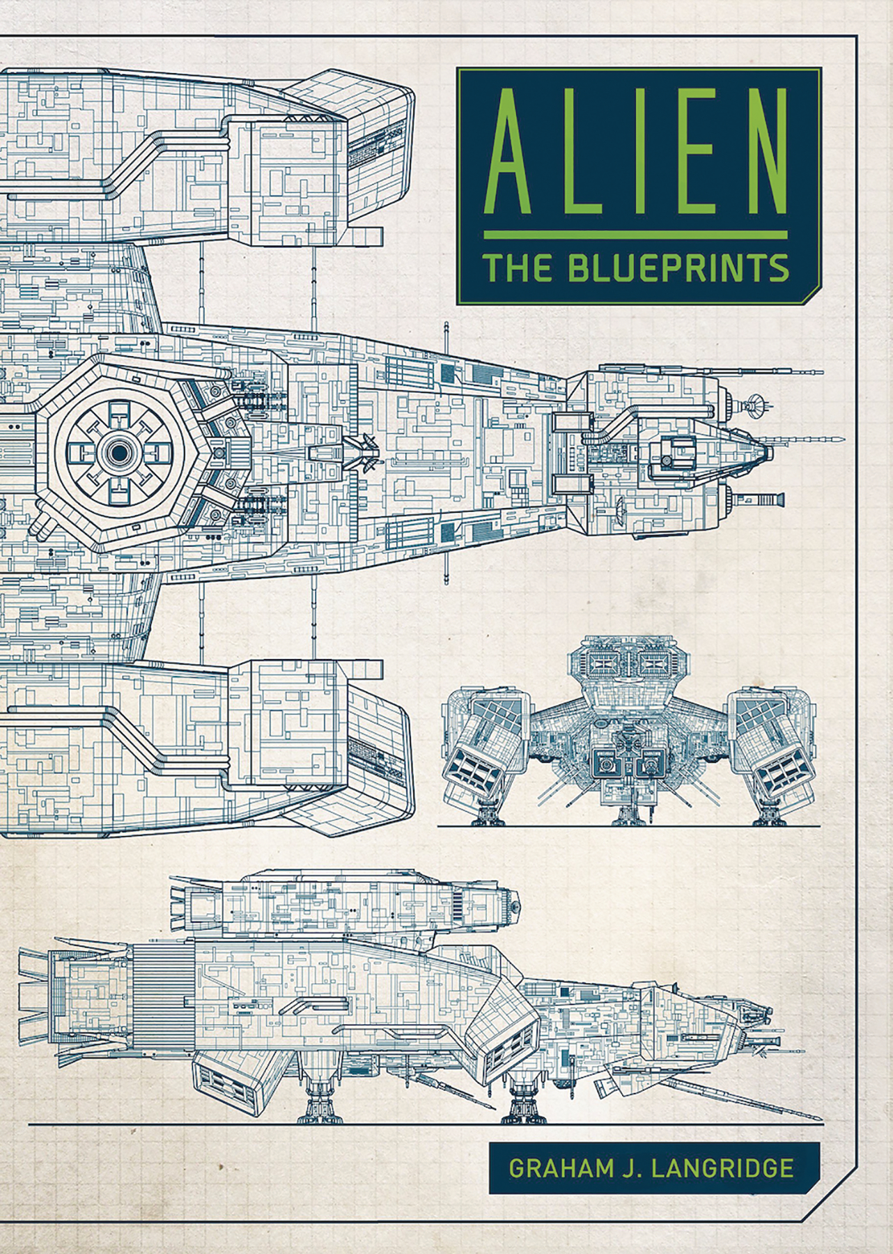 ALIEN BLUEPRINTS HC