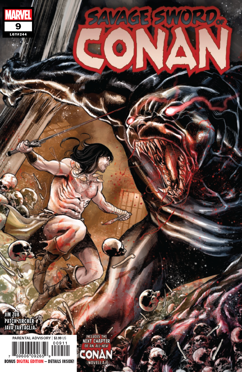 SAVAGE SWORD OF CONAN #9