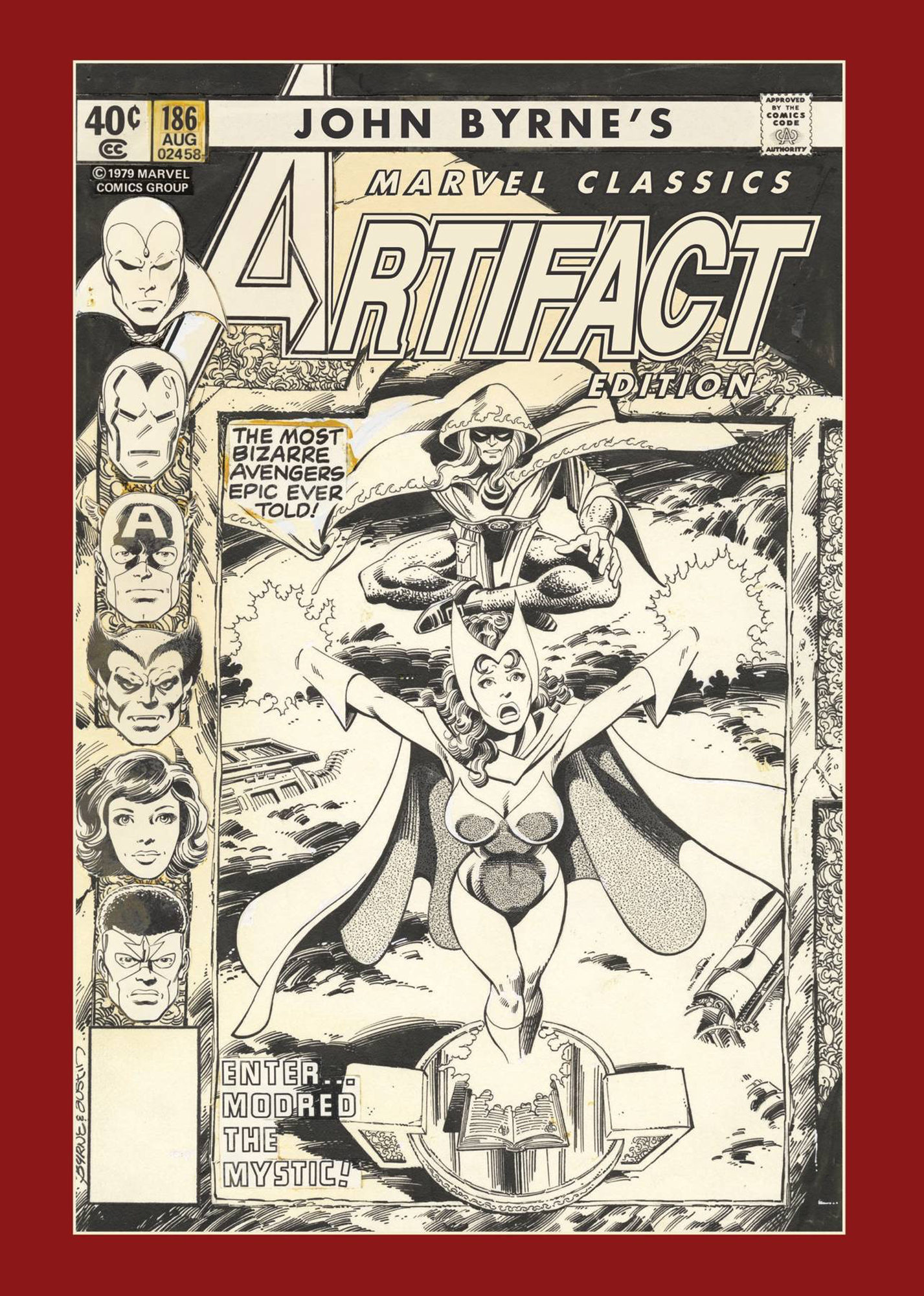 Image result for john byrne marvel classics artifact edition