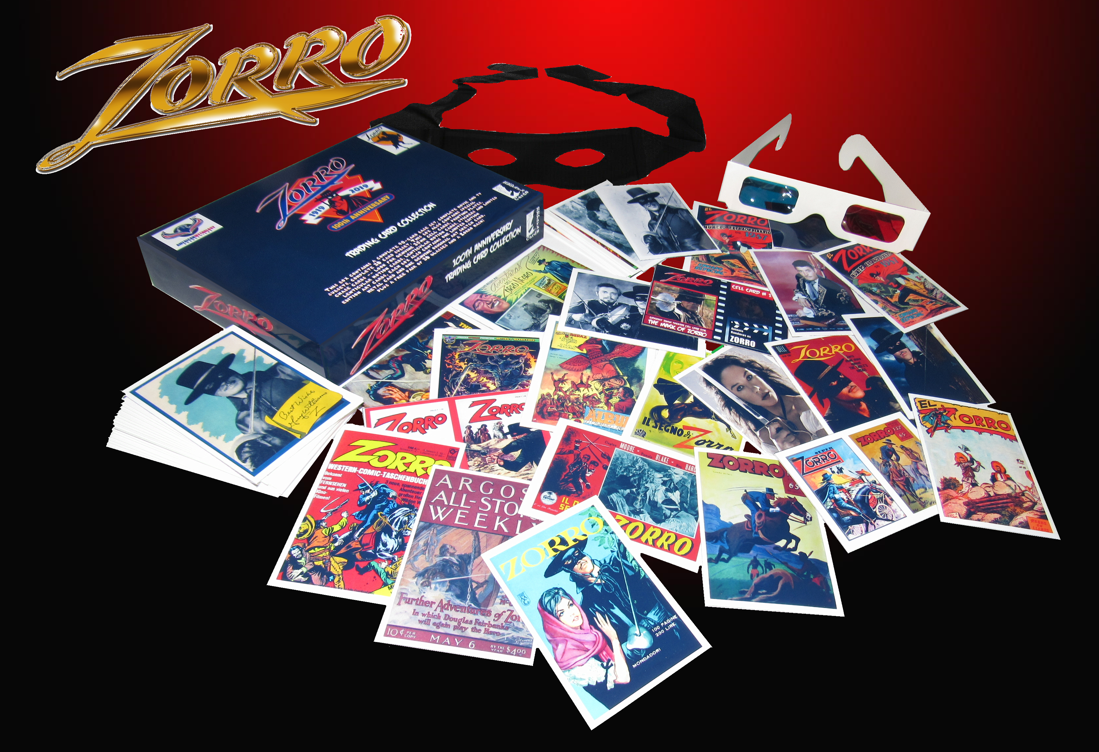 ZORRO 100TH ANNIVERSARY TRADING CARDS SERIES 1