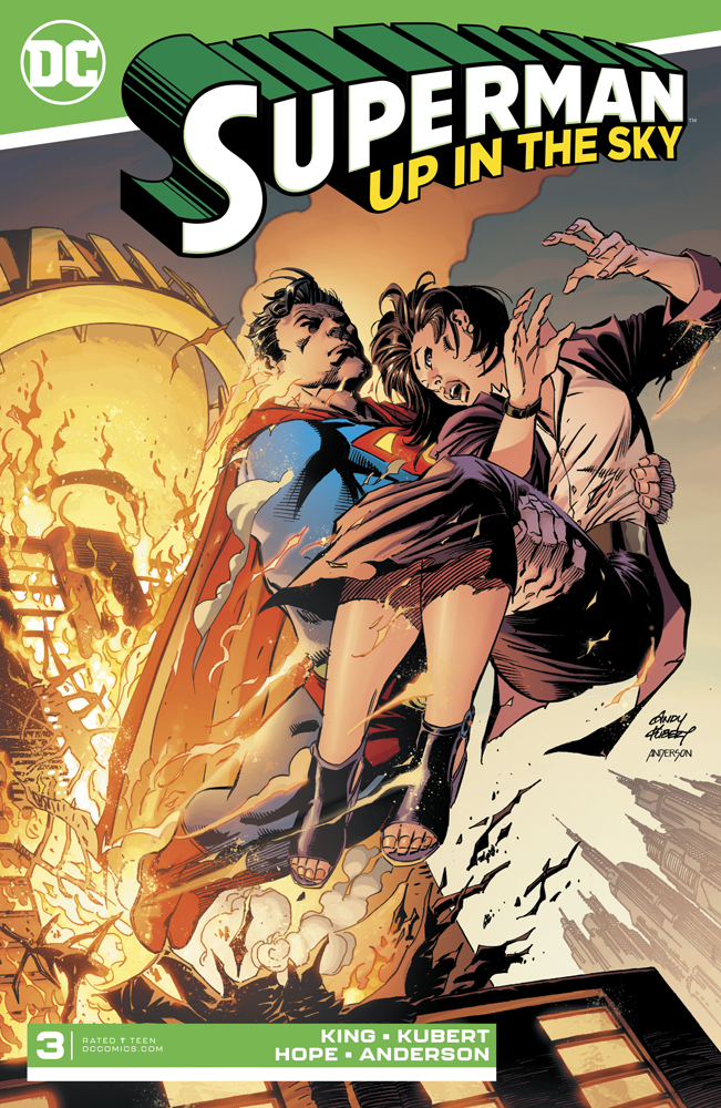 SUPERMAN UP IN THE SKY #3 (OF 6)