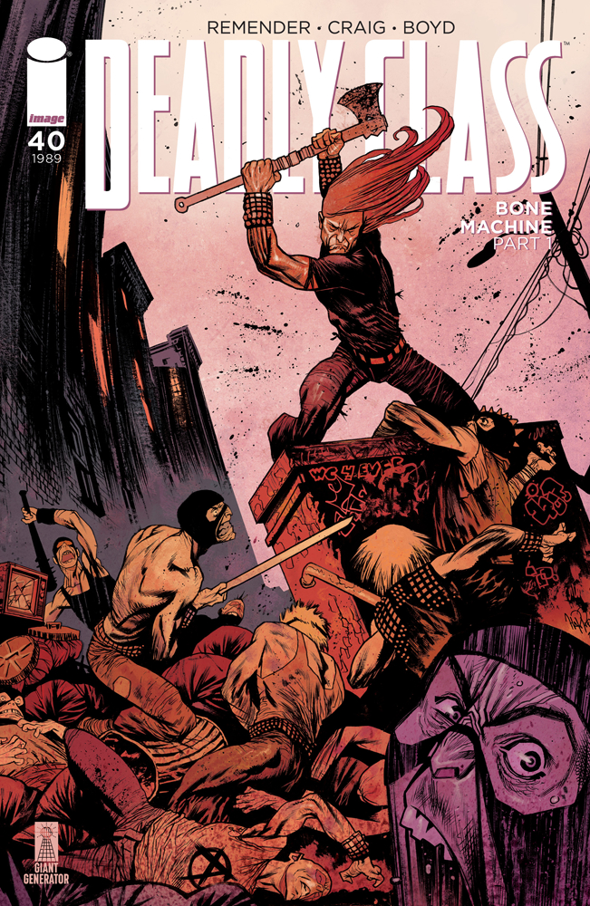 DEADLY CLASS #40 CVR B HARREN (MR)