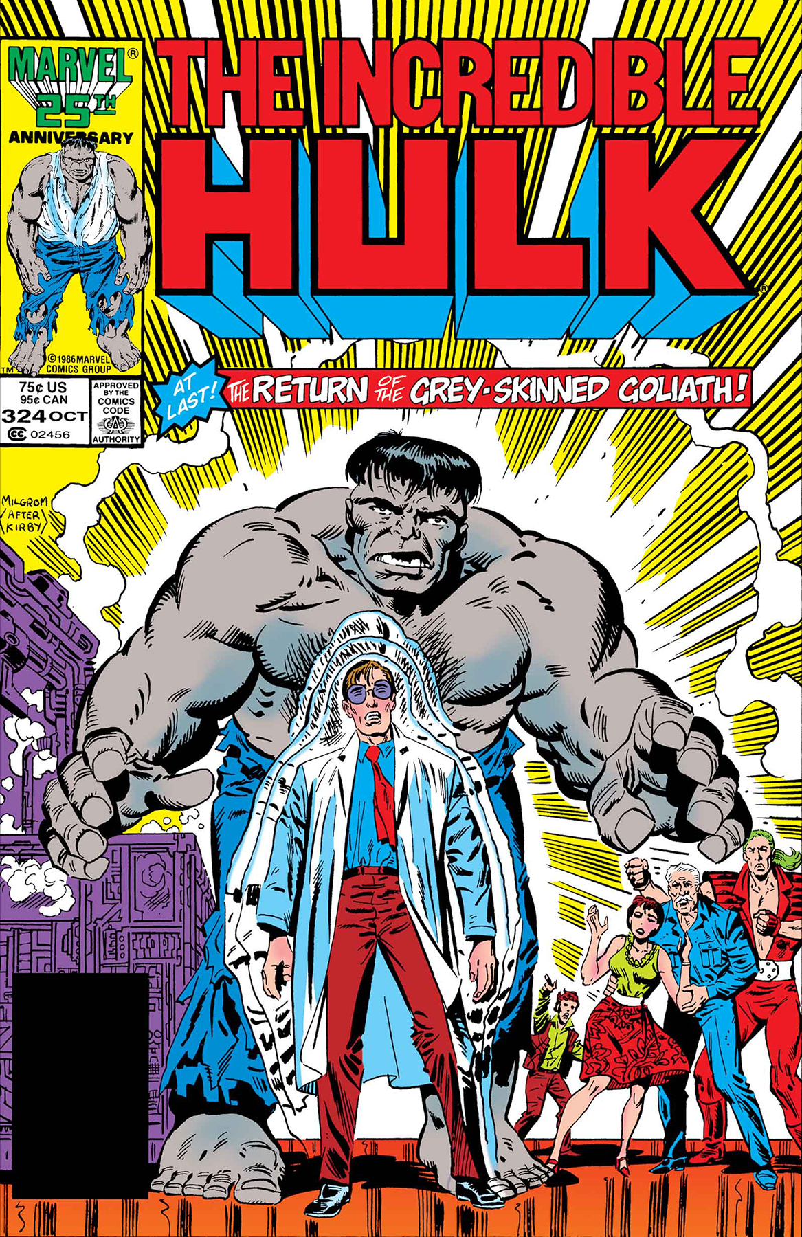 TRUE BELIEVERS HULK GRAY HULK RETURNS #1