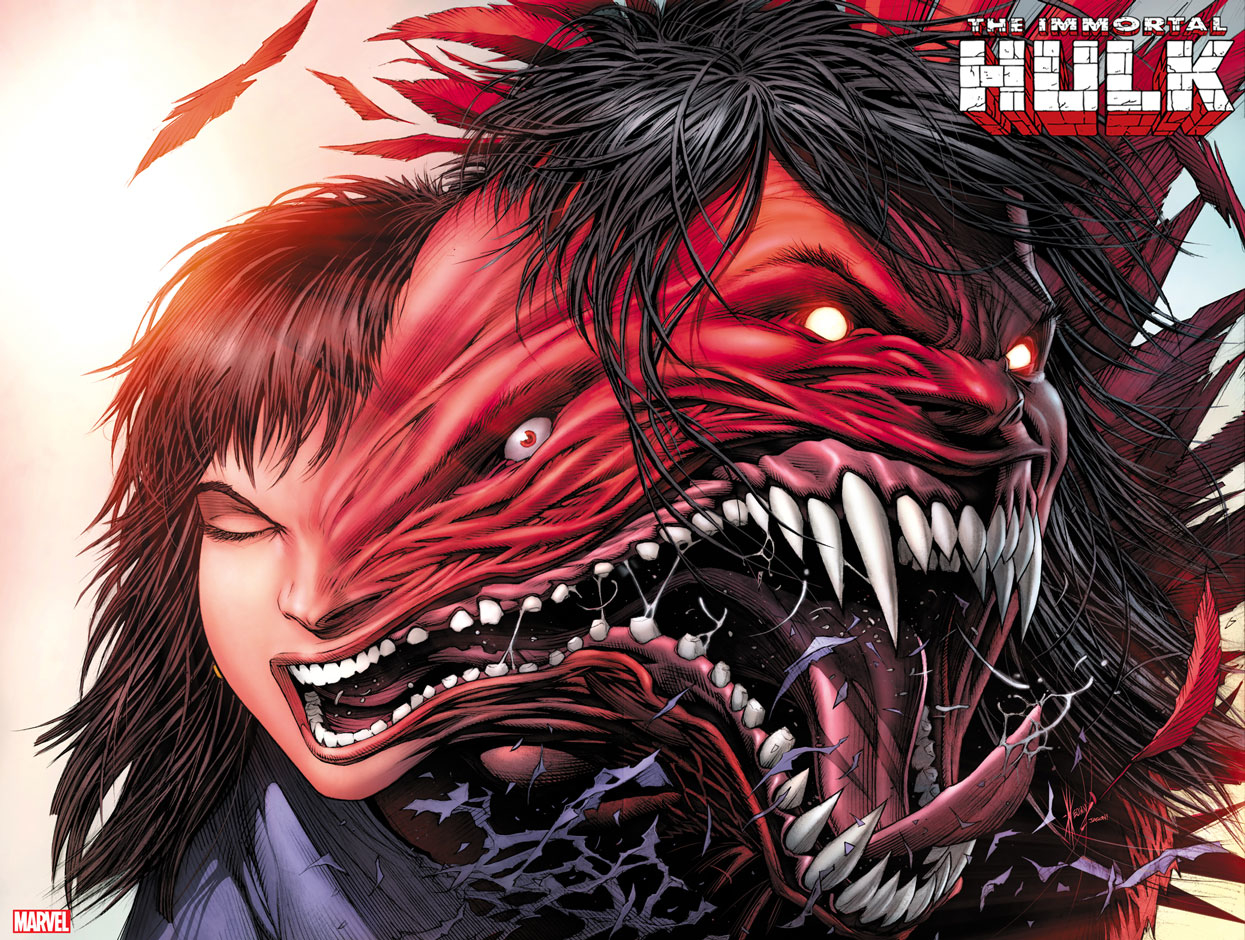 IMMORTAL HULK #23 KEOWN IMMORTAL WRAPAROUND VAR