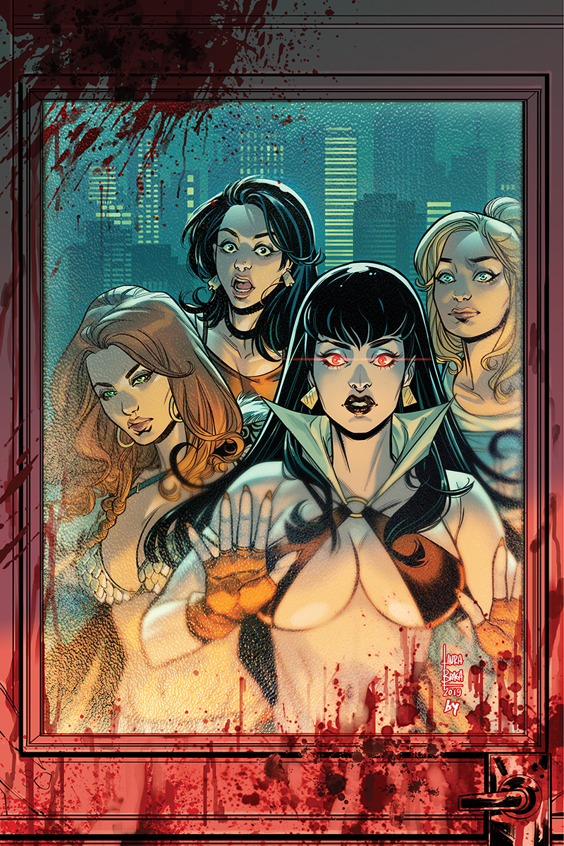 RED SONJA VAMPIRELLA BETTY VERONICA #5 30 COPY BRAGA VIRGIN