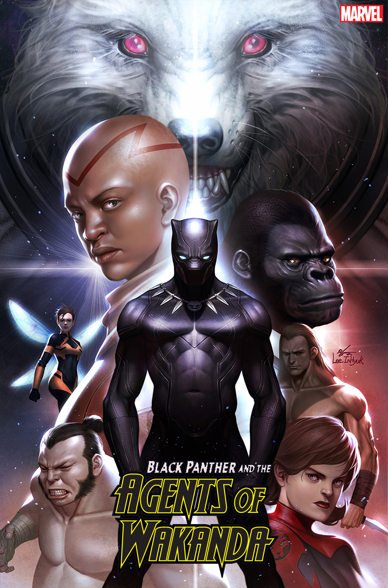 BLACK PANTHER AND AGENTS OF WAKANDA #1 INHYUK LEE VAR