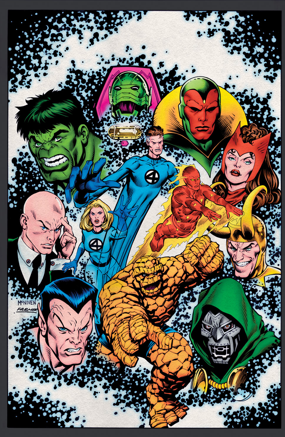 HISTORY OF MARVEL UNIVERSE #3 POSTER