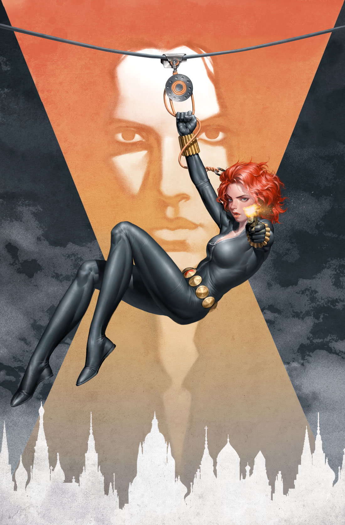 WEB OF BLACK WIDOW #1 POSTER