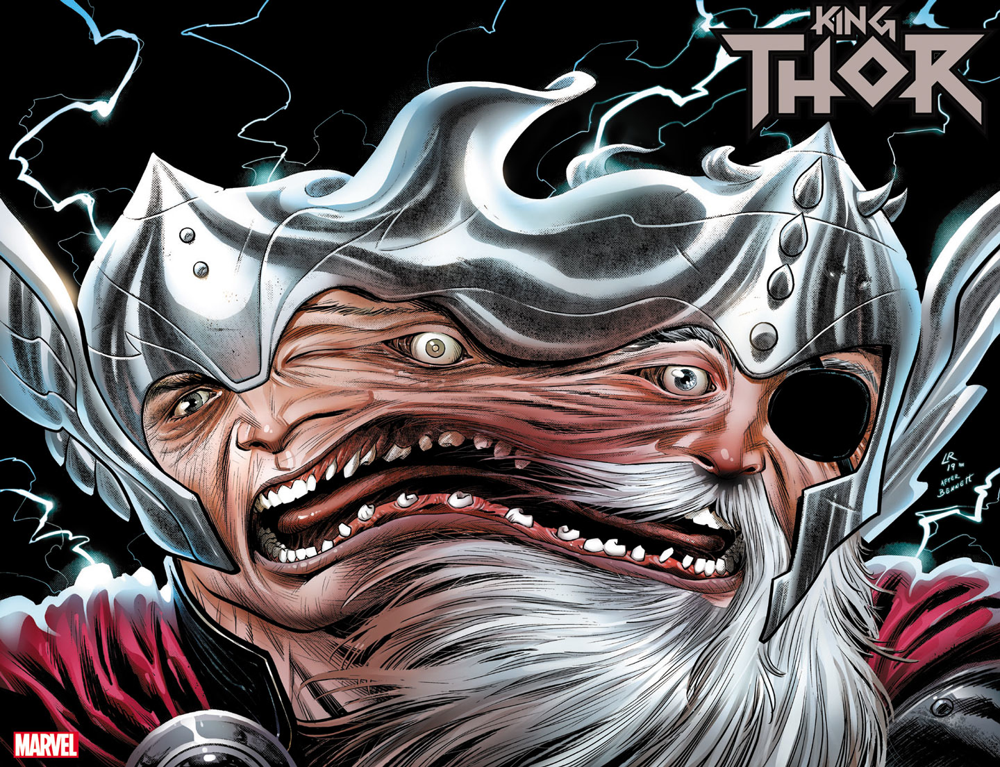 KING THOR #1 (OF 4) ROSS IMMORTAL WRAPAROUND VAR