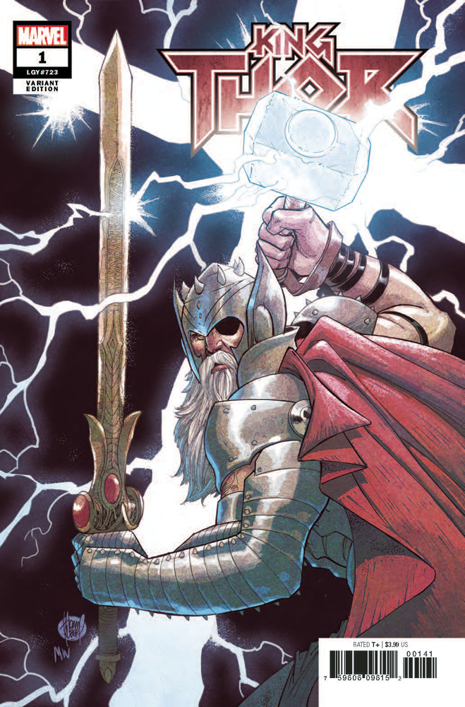 KING THOR #1 (OF 4) KUBERT VAR