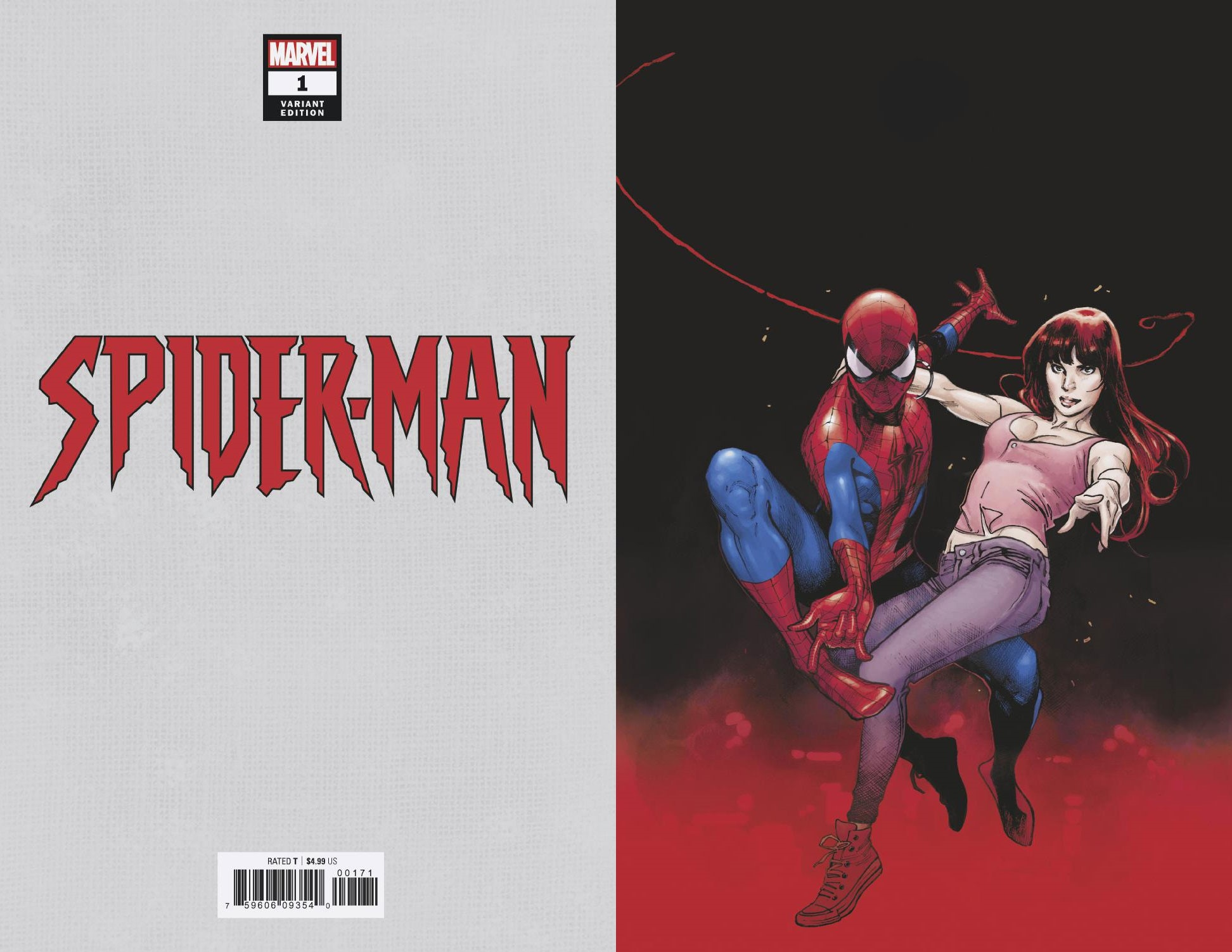 SPIDER-MAN #1 (OF 5) COIPEL VIRGIN VAR