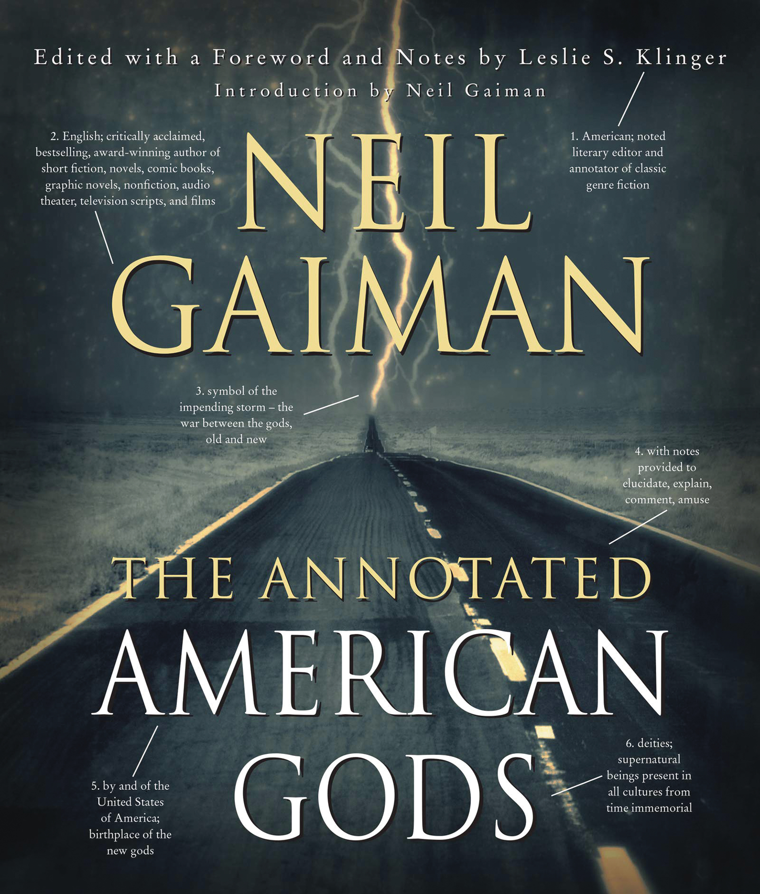 NEIL GAIMANS ANNOTATED AMERICAN GODS HC (RES)