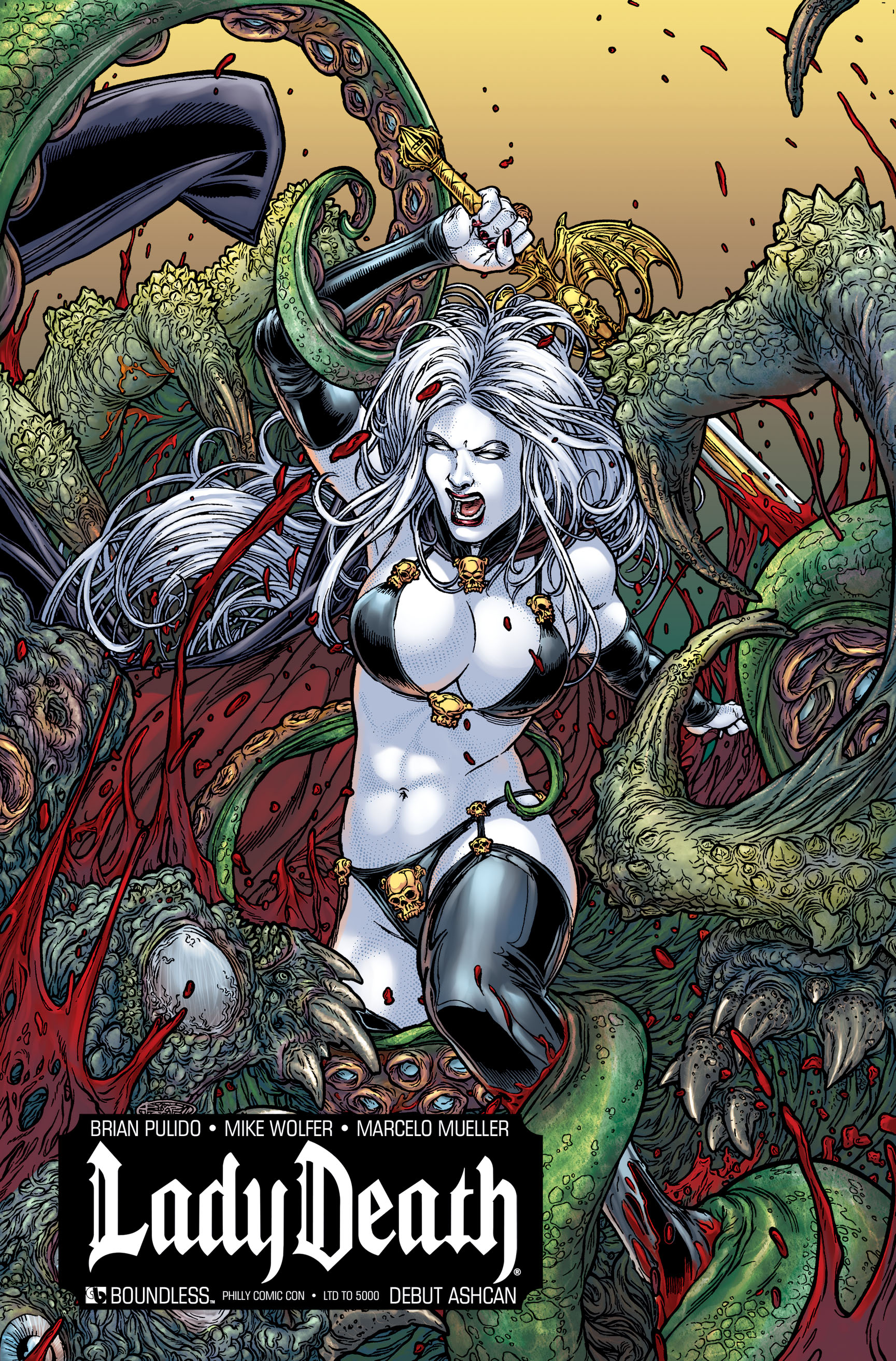 LADY DEATH DEBUT ASHCAN PHILADELPHIA (MR)