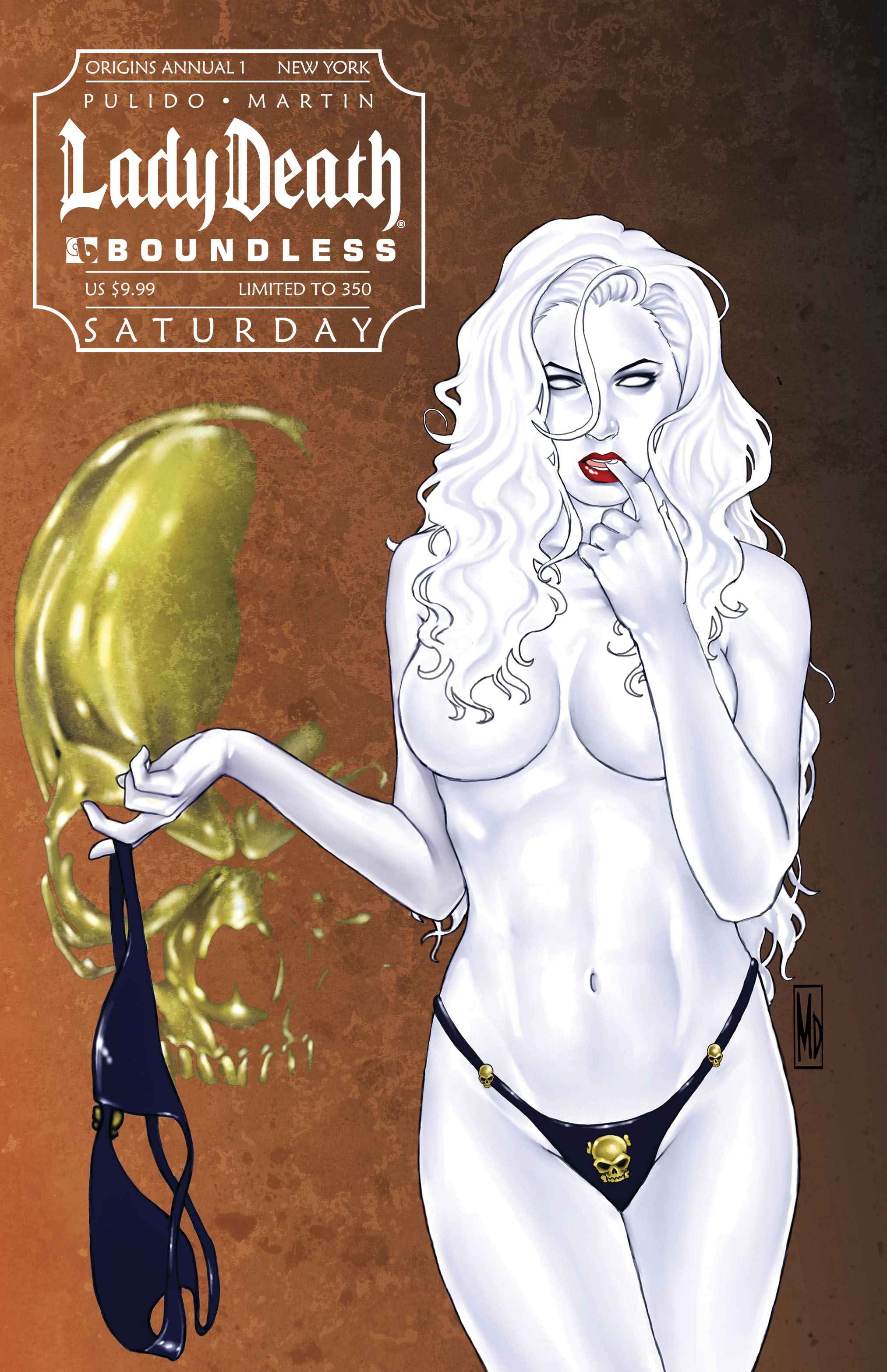 LADY DEATH ORIGINS ANNUAL #1 NEW YORK SATURDAY (MR)