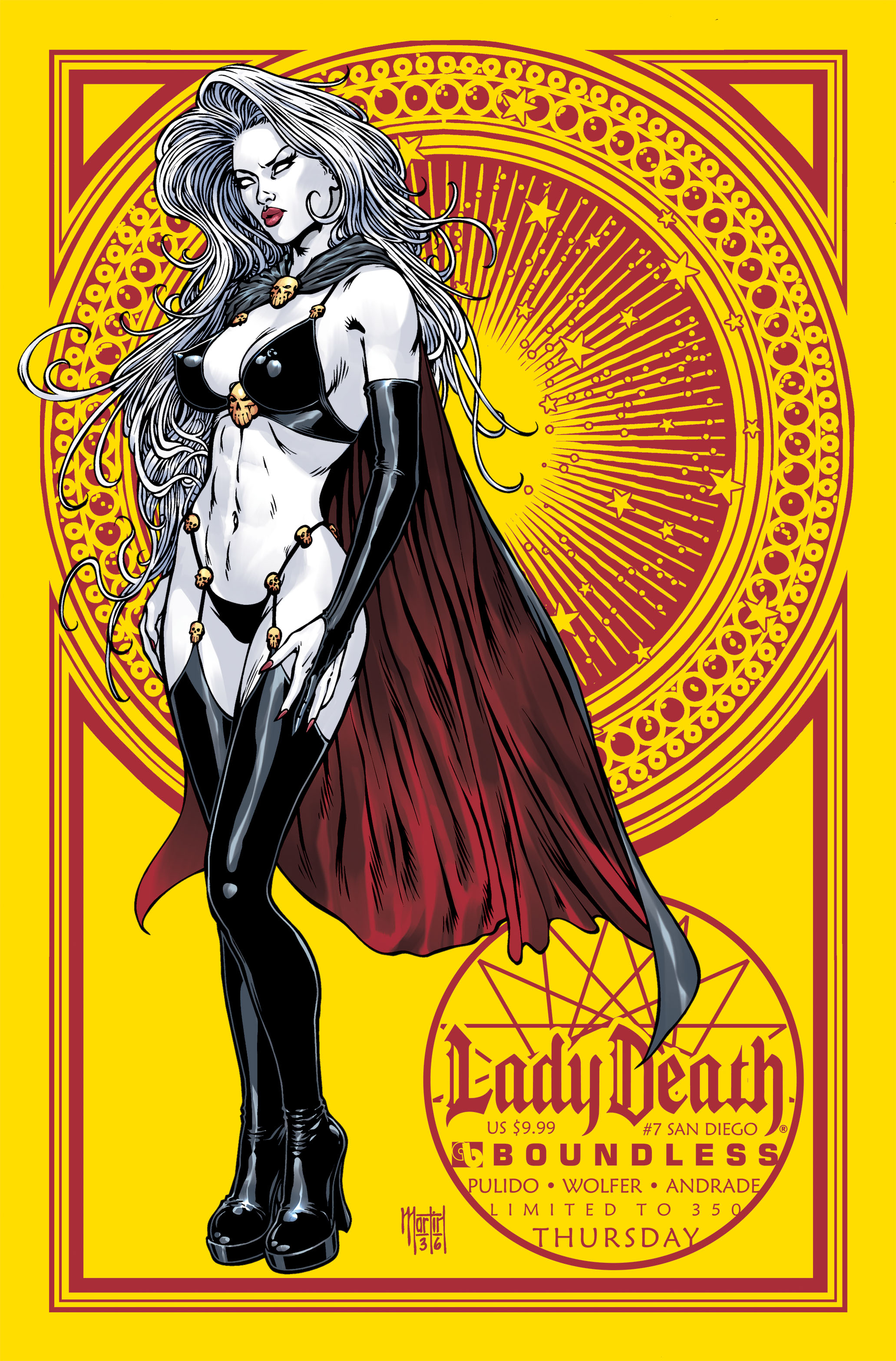 LADY DEATH (ONGOING) #7 SAN DIEGO THURS (MR)