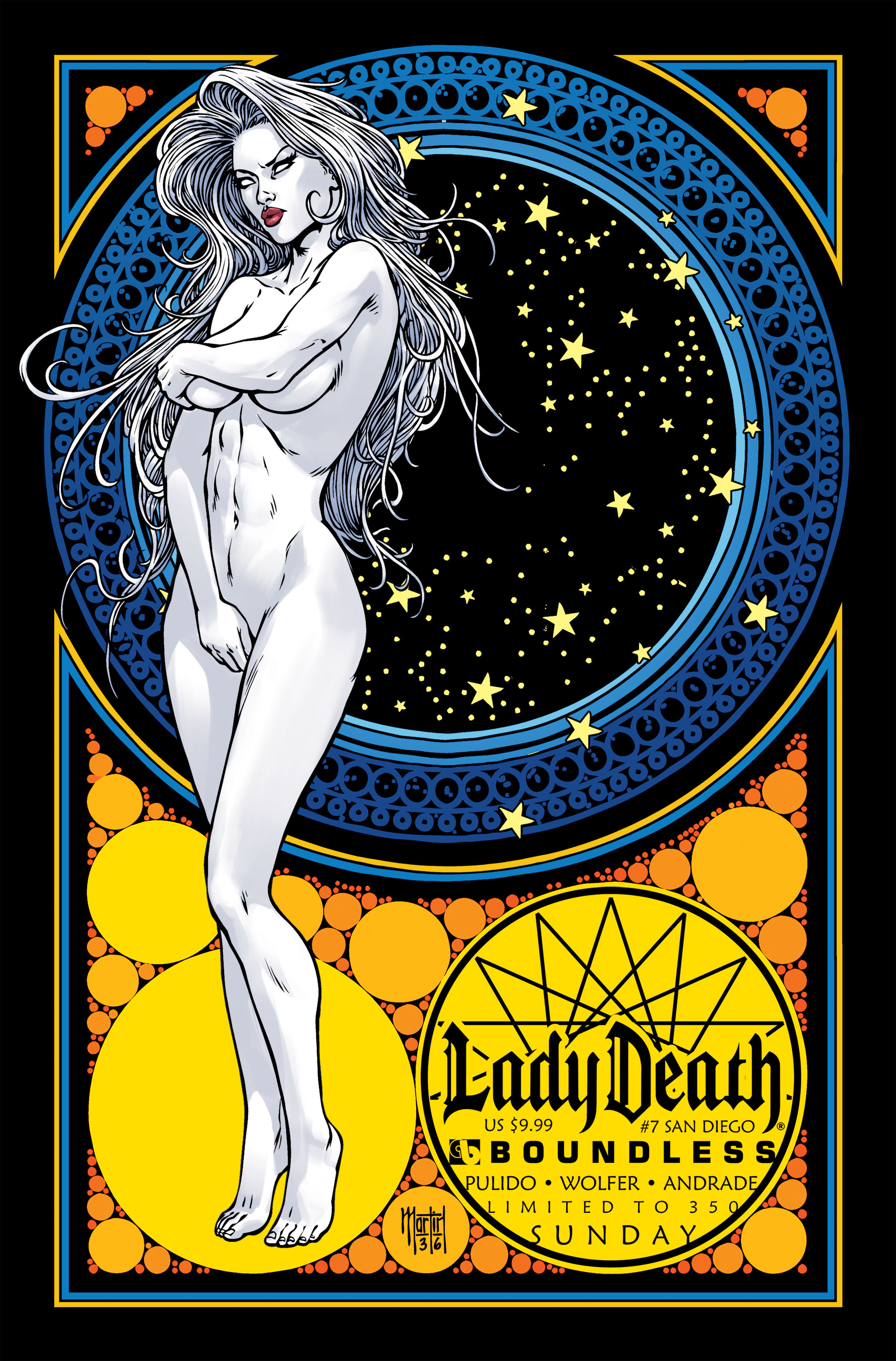 LADY DEATH (ONGOING) #7 SAN DIEGO SUN (MR)