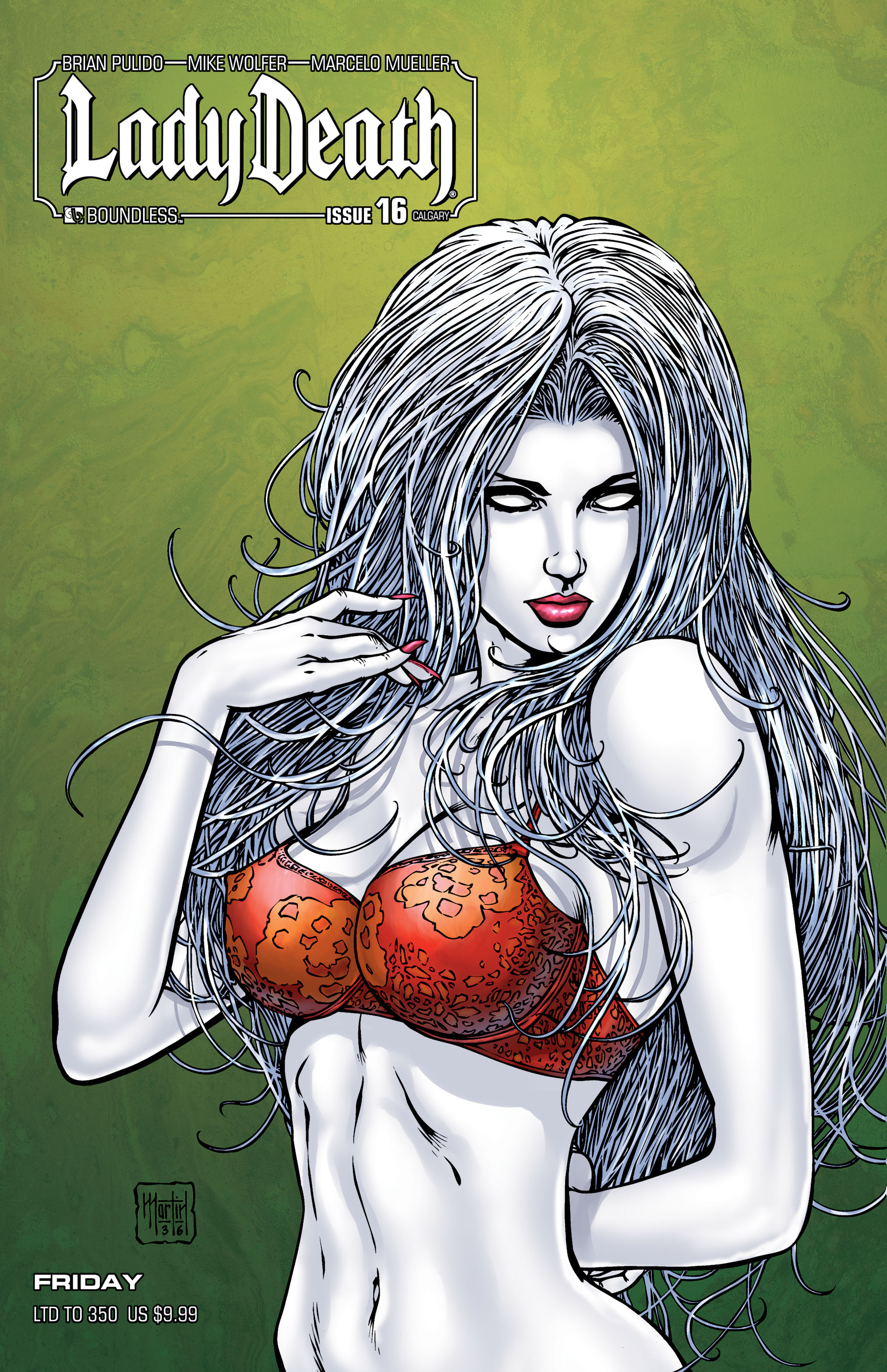 LADY DEATH (ONGOING) #16 CALGARY FRIDAY (MR)