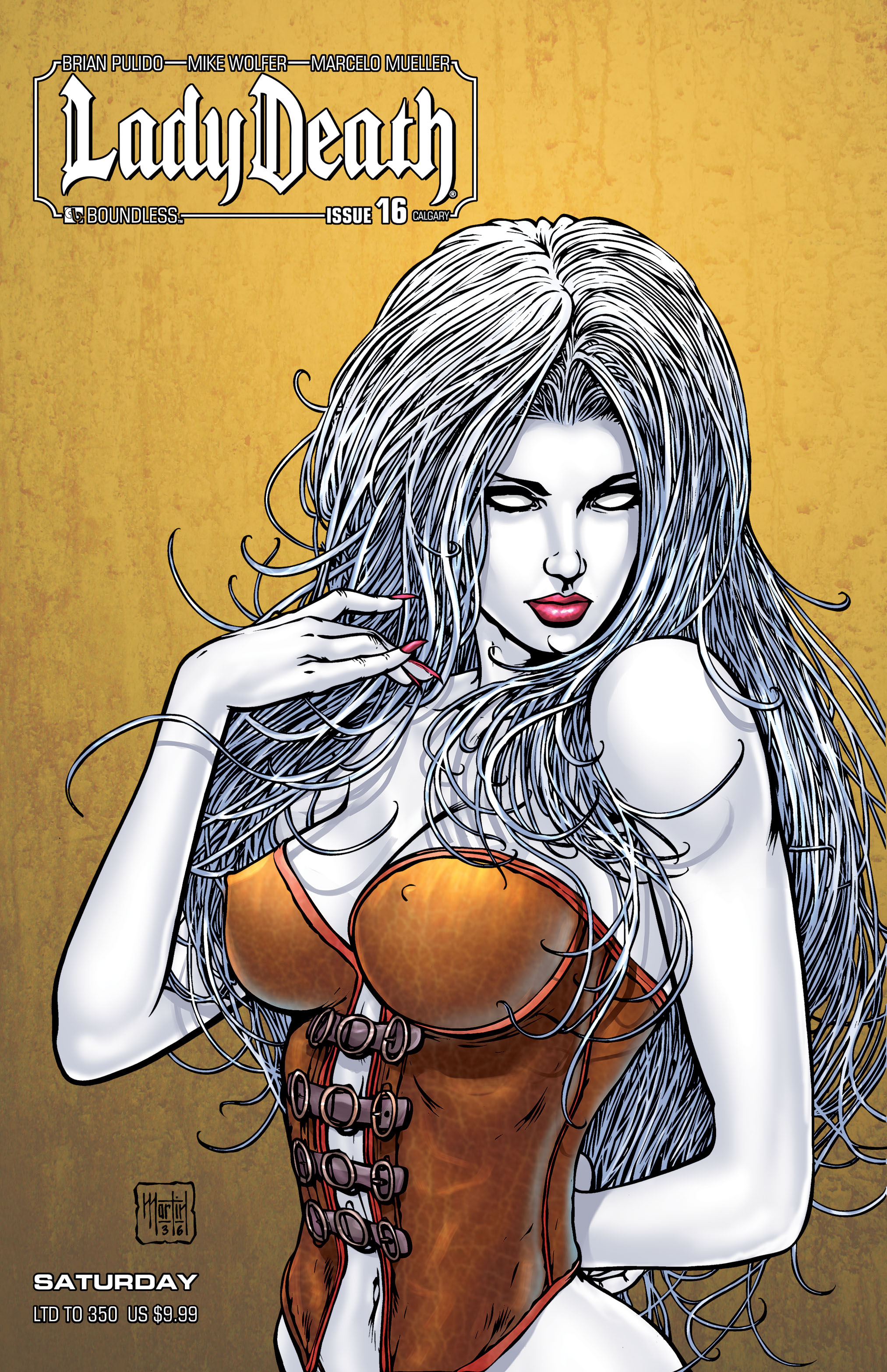 LADY DEATH (ONGOING) #16 CALGARY SATURDAY (MR)