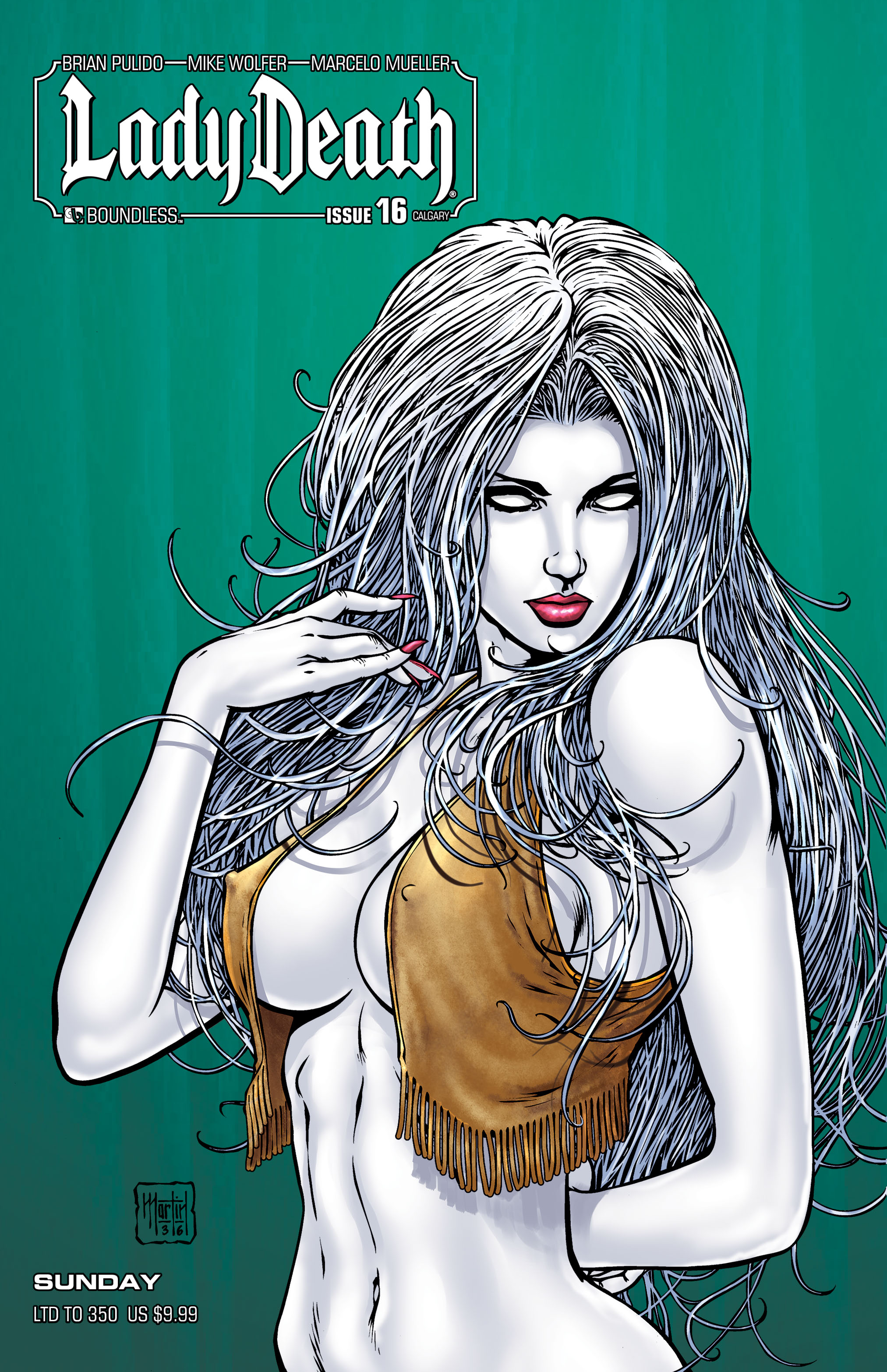 LADY DEATH (ONGOING) #16 CALGARY SUNDAY (MR)