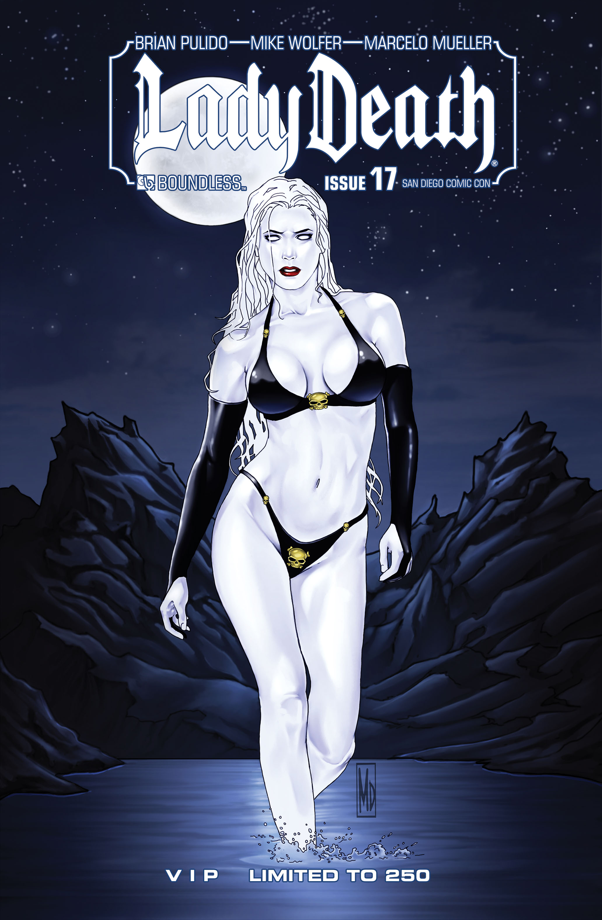 LADY DEATH (ONGOING) #17 SDCC VIP (MR)