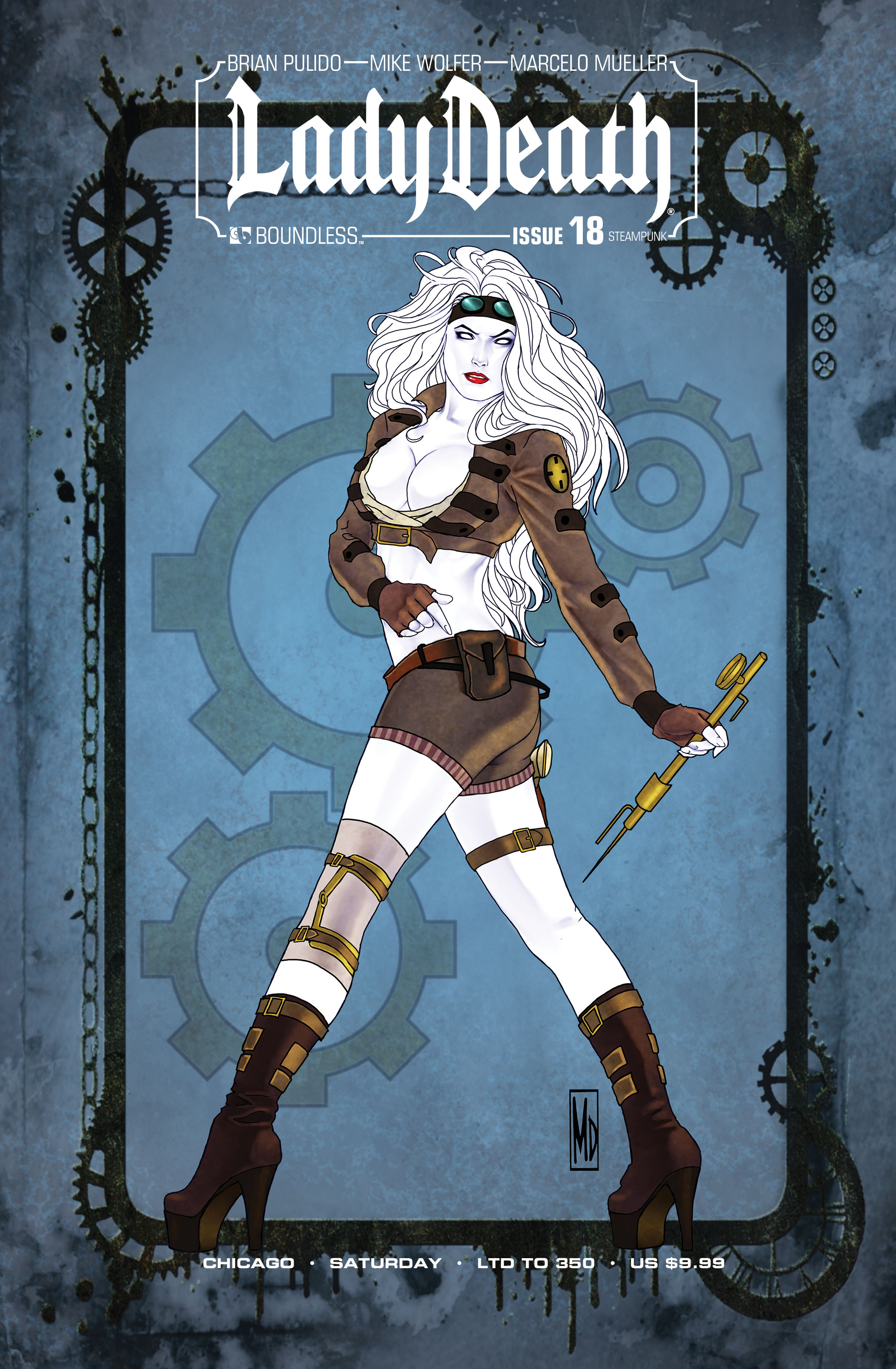 LADY DEATH (ONGOING) #18 CHICAGO STEAMPUNK SATURDAY (MR)